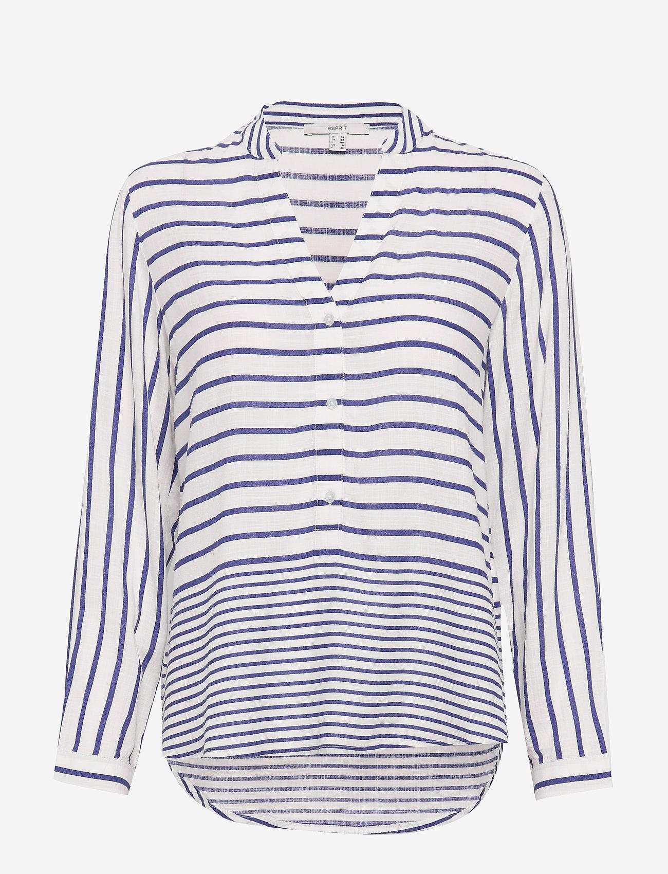 Esprit Casual - Blouses woven - langærmede bluser - bright blue 3 - 0