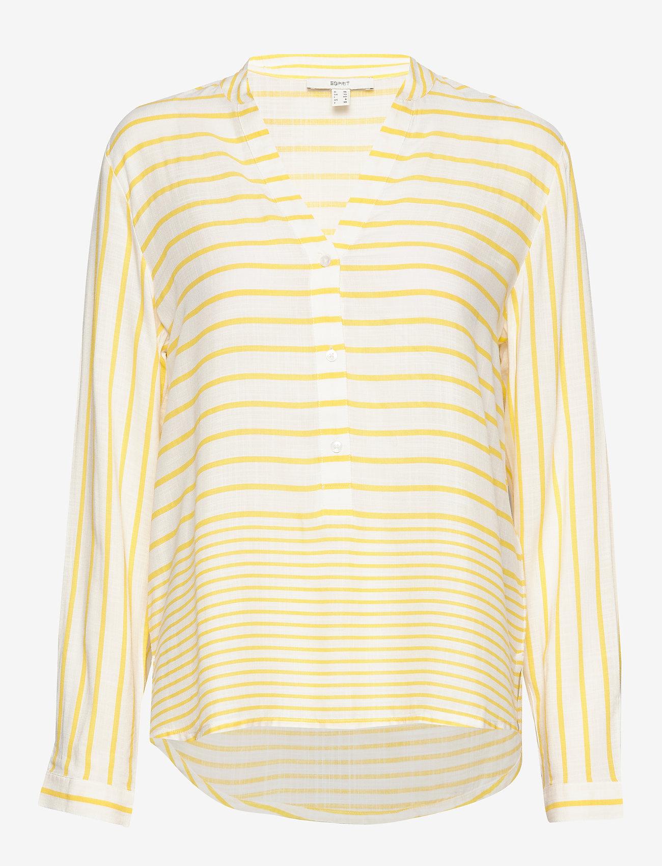 Esprit Casual - Blouses woven - langærmede bluser - yellow 3 - 0
