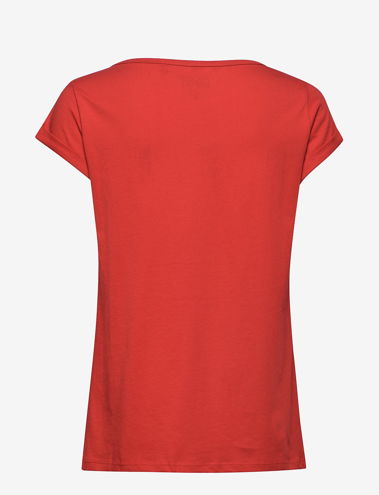Esprit Casual - T-Shirts - t-shirts med tryk - dark red - 1