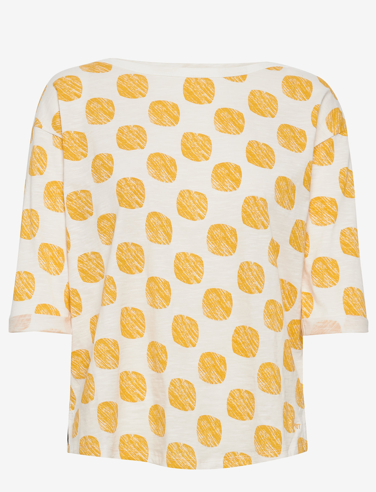 Esprit Casual - T-Shirts - langærmede toppe - yellow - 0