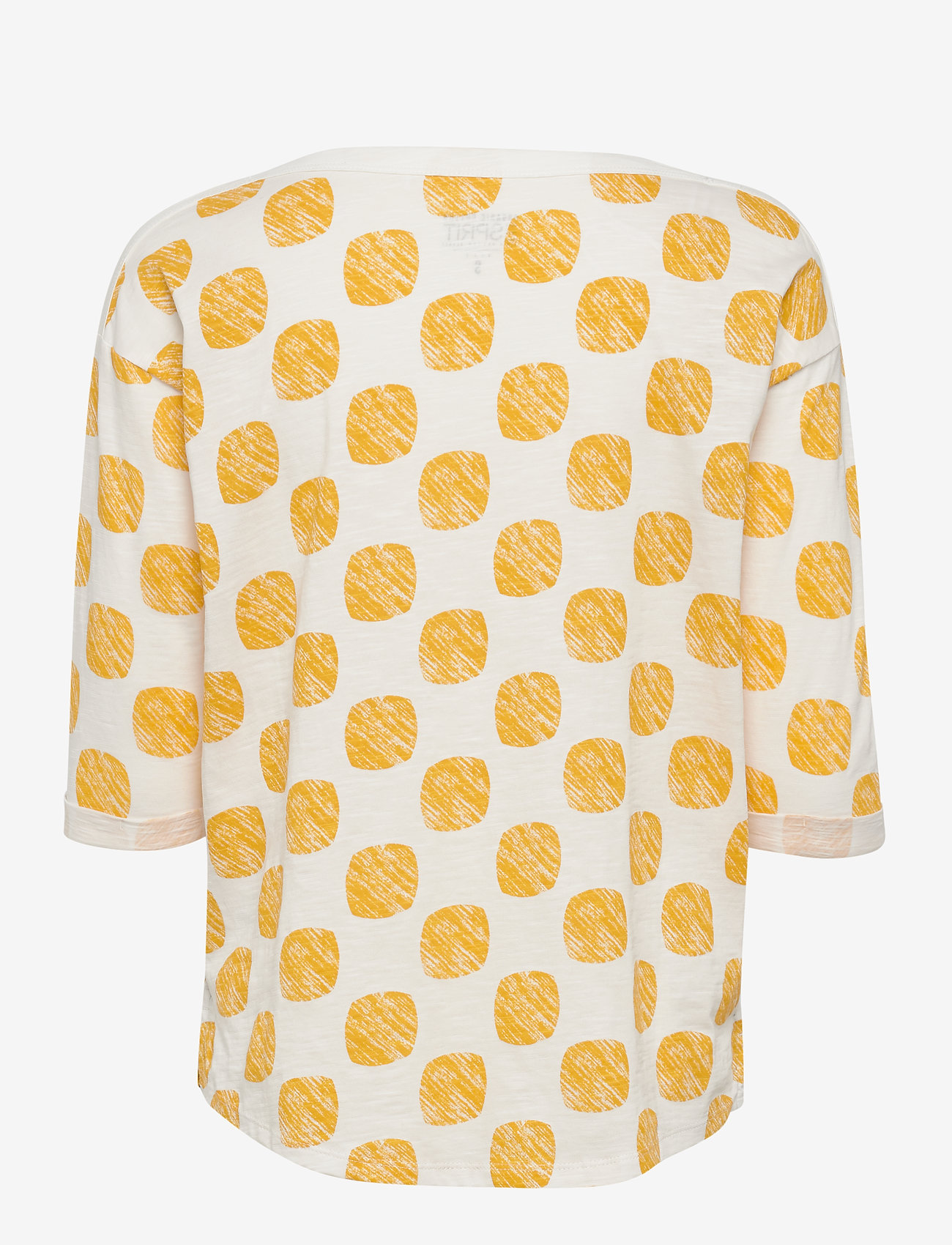 Esprit Casual - T-Shirts - langærmede toppe - yellow - 1