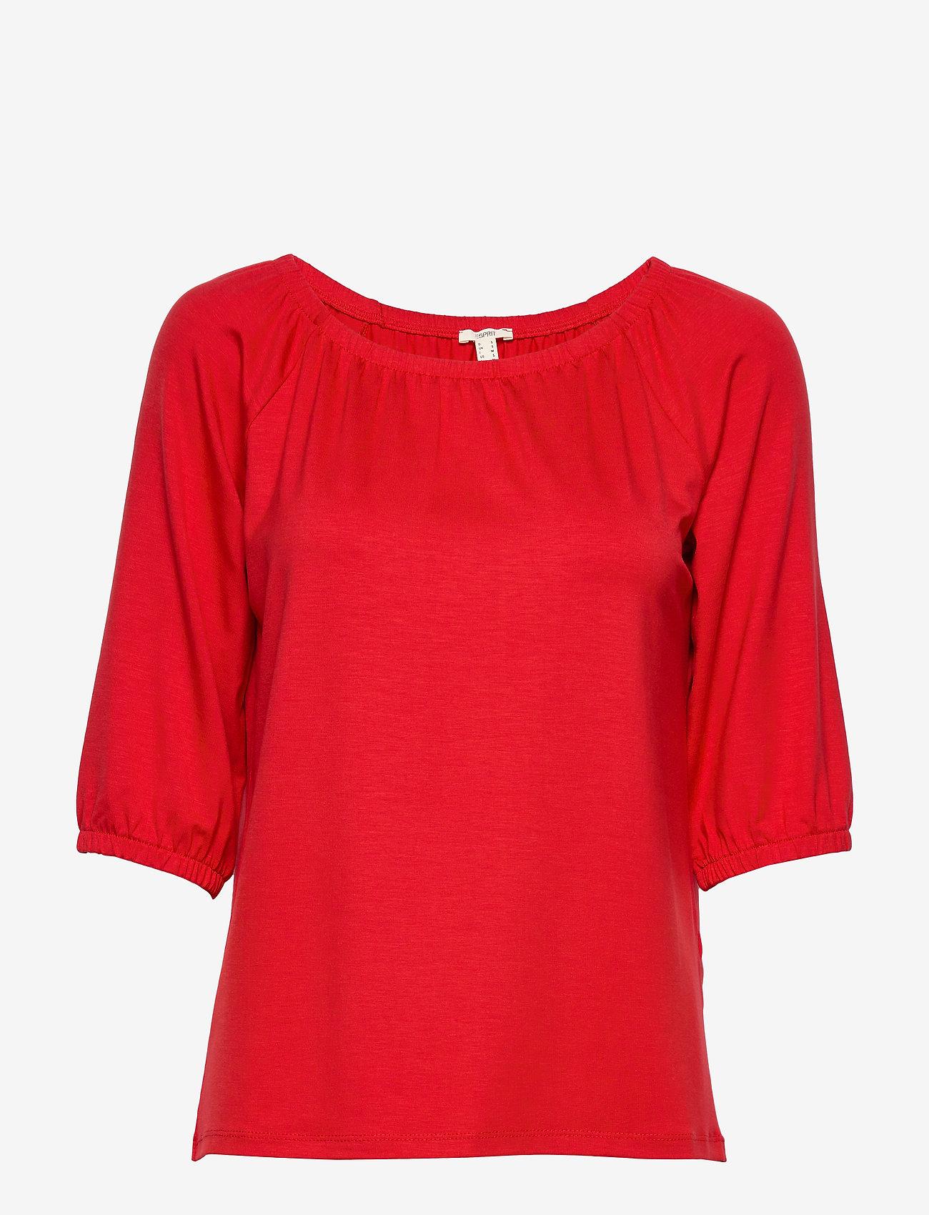 Esprit Casual - T-Shirts - basic t-shirts - dark red - 1