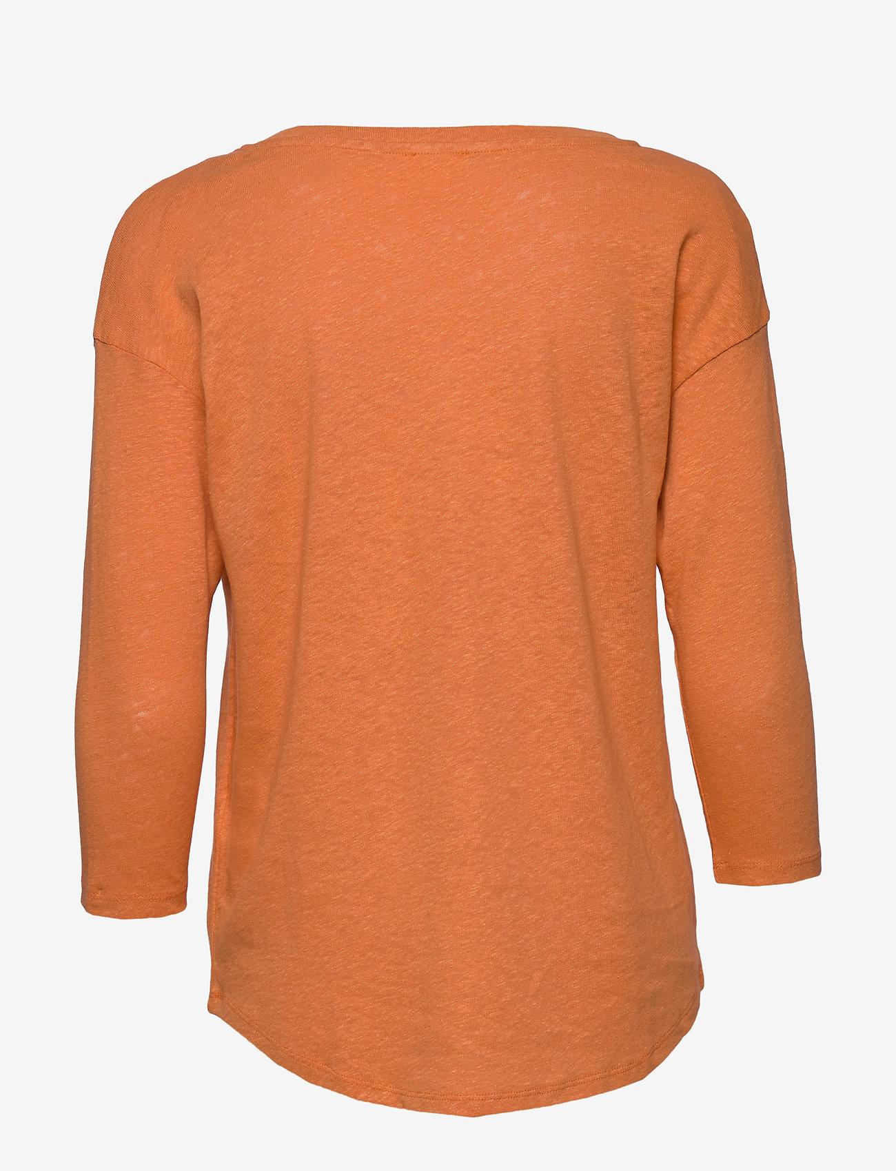 Esprit Casual - T-Shirts - langærmede toppe - rust orange - 1