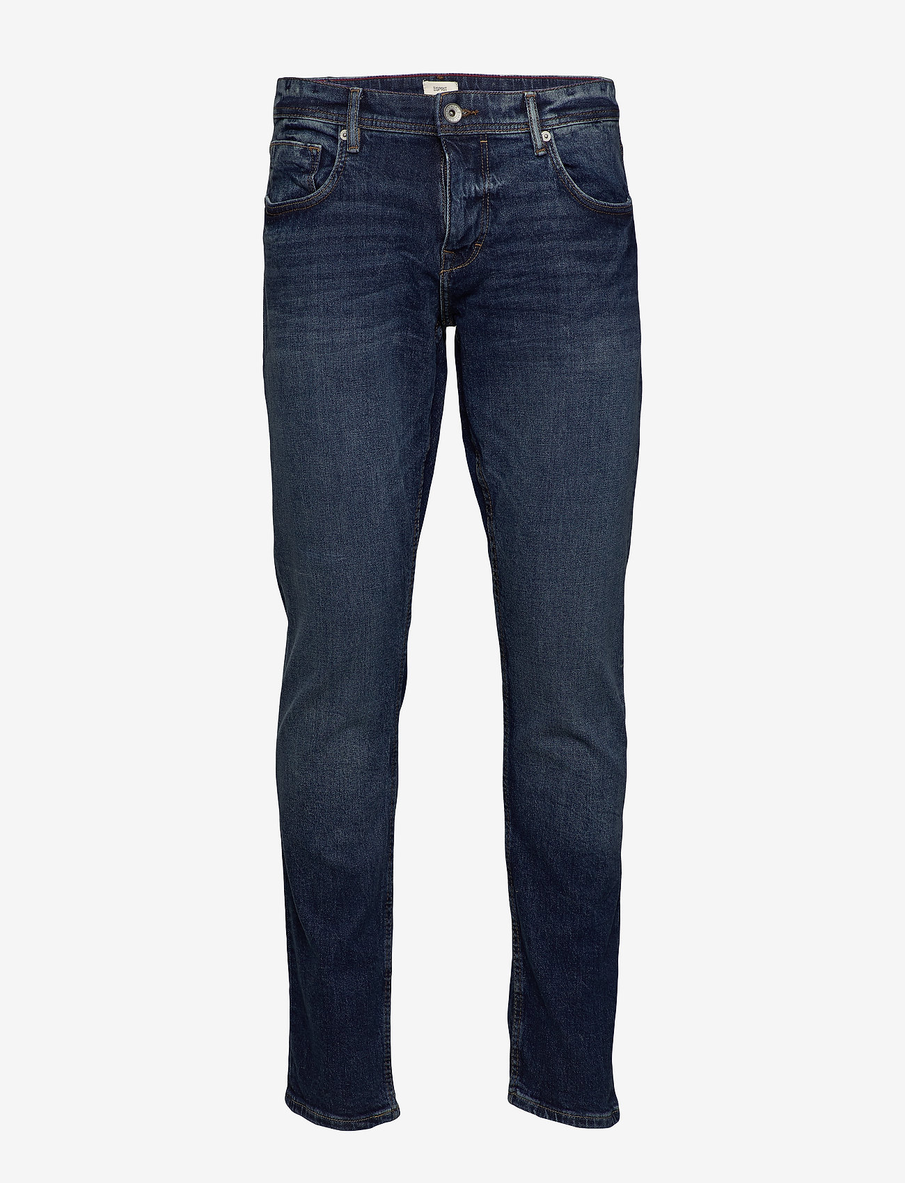 Esprit Casual - Pants denim - slim jeans - blue dark wash - 0