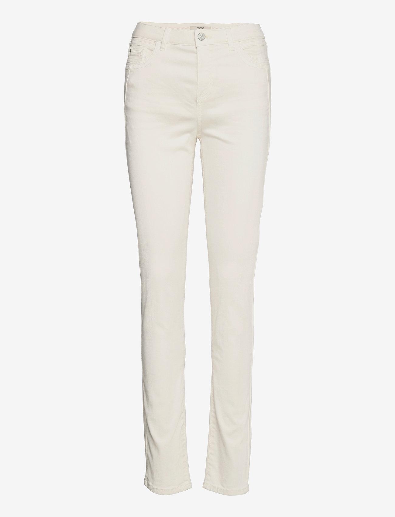 Esprit Casual - Pants woven - slim fit bukser - ice - 0