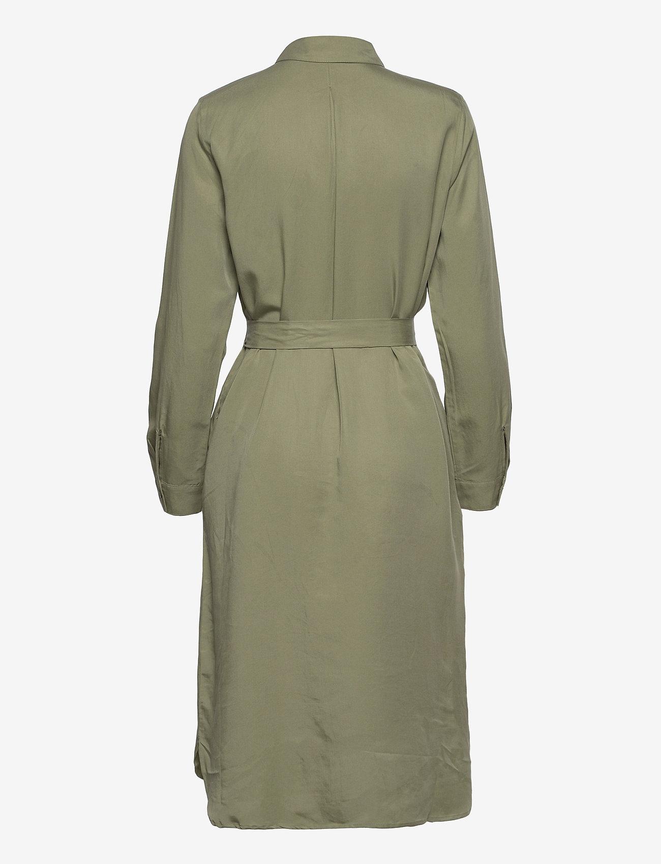 Esprit Casual - Dresses light woven - midi dresses - light khaki - 1