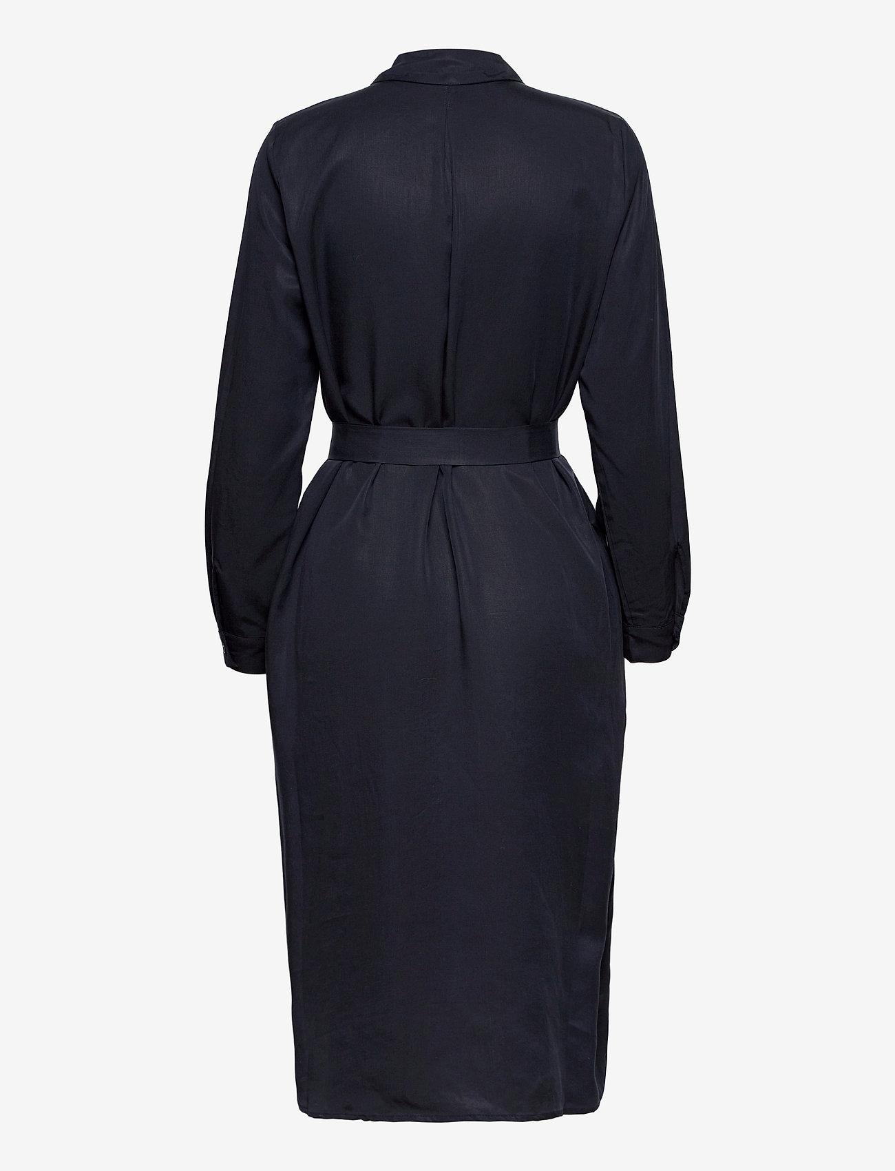 Esprit Casual - Dresses light woven - midi dresses - navy - 1