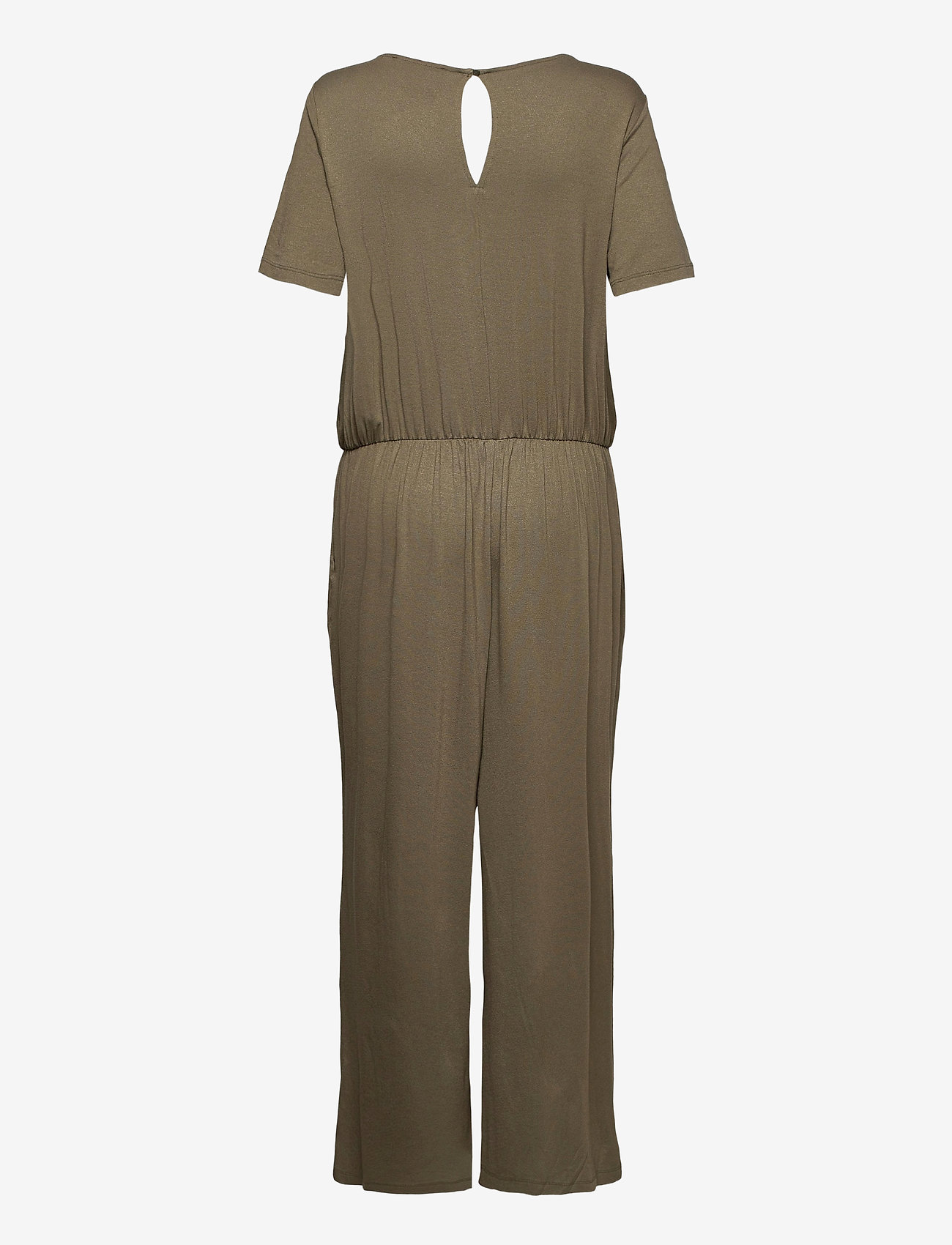 Esprit Casual - Overalls knitted - jumpsuits - khaki green - 1