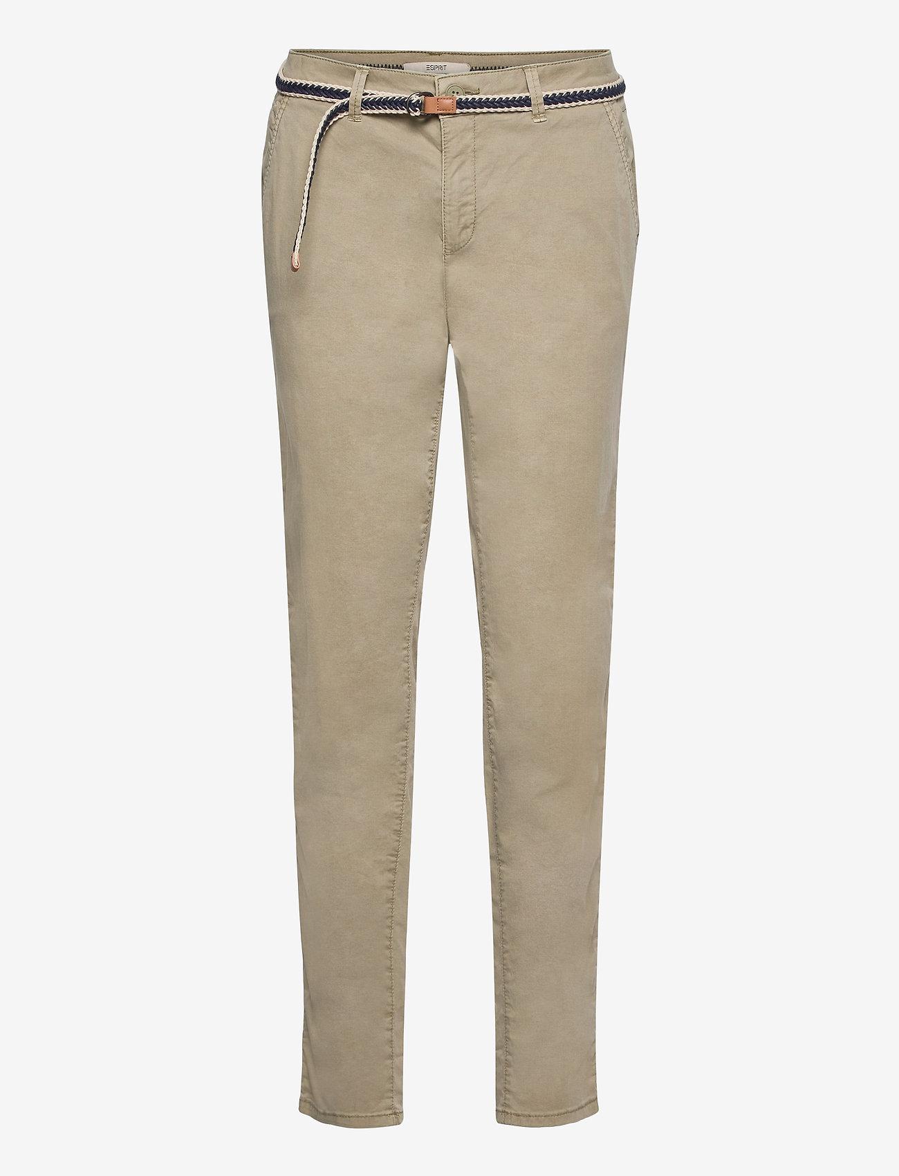 Esprit Casual - Pants woven - chinos - pale khaki - 0
