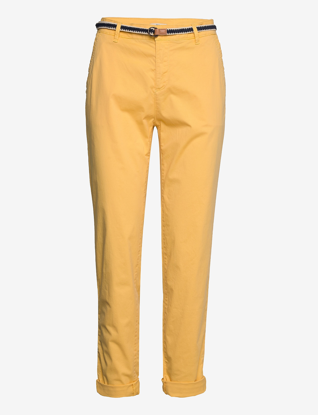 Esprit Casual - Pants woven - chinos - sunflower yellow - 0