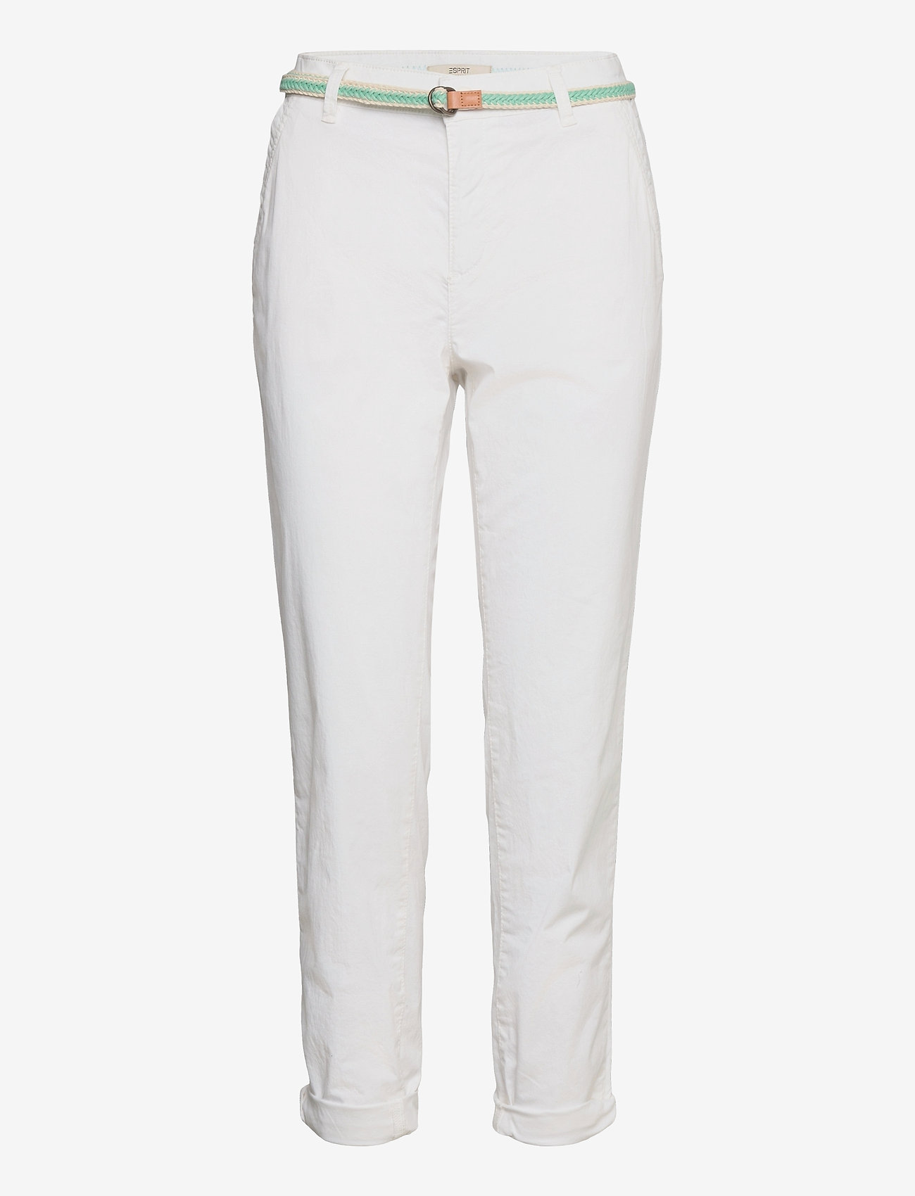 Esprit Casual - Pants woven - chinos - white - 0