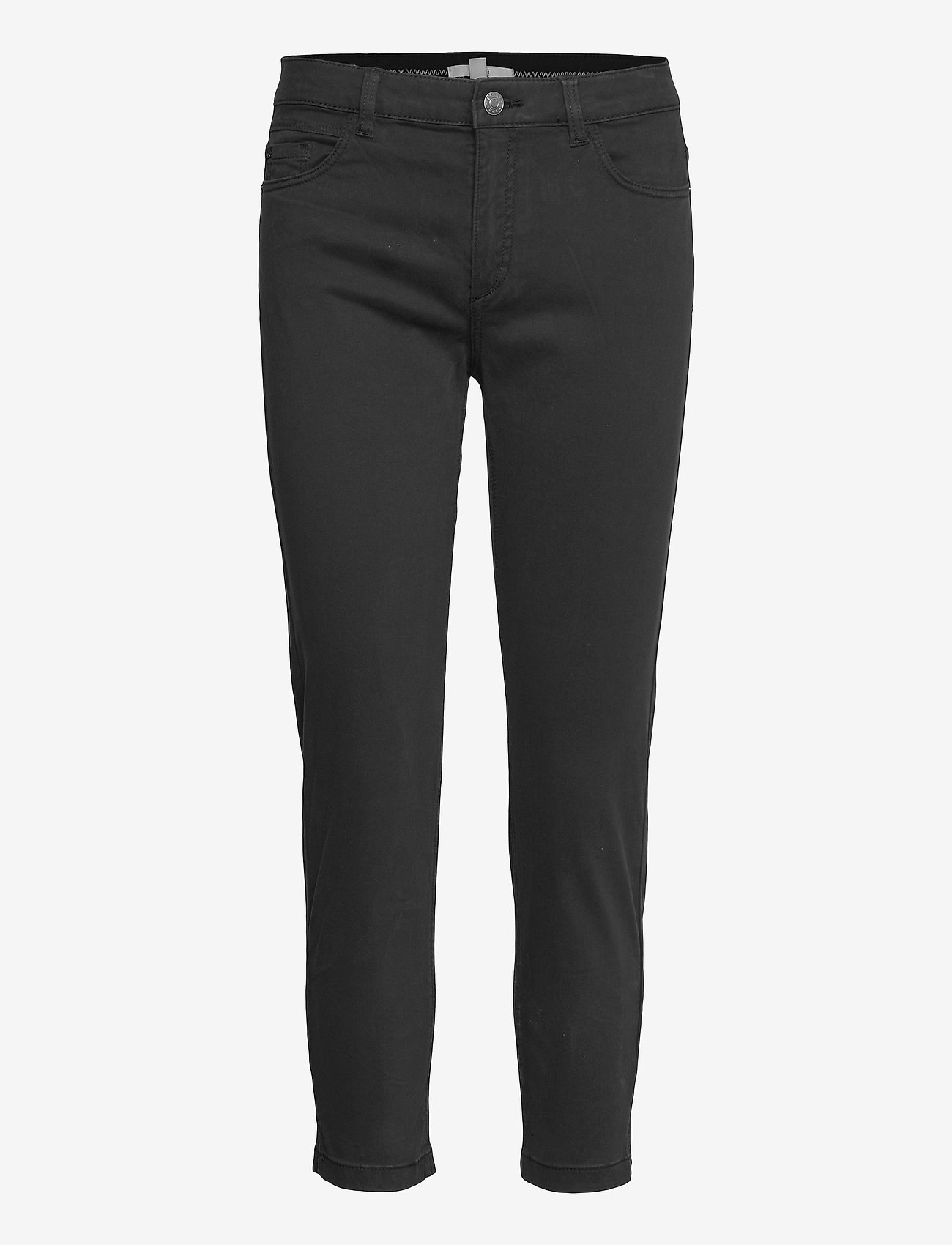 Esprit Casual - Pants woven - slim fit bukser - black - 0