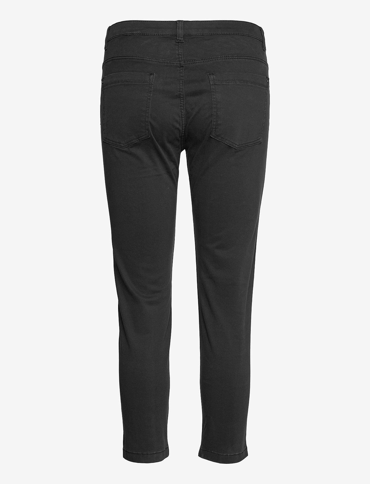 Esprit Casual - Pants woven - slim fit bukser - black - 1