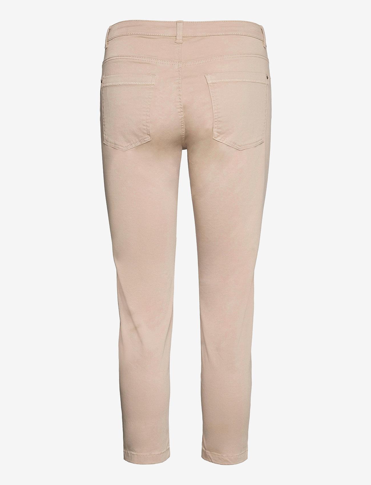 Esprit Casual - Pants woven - slim fit bukser - light beige - 1