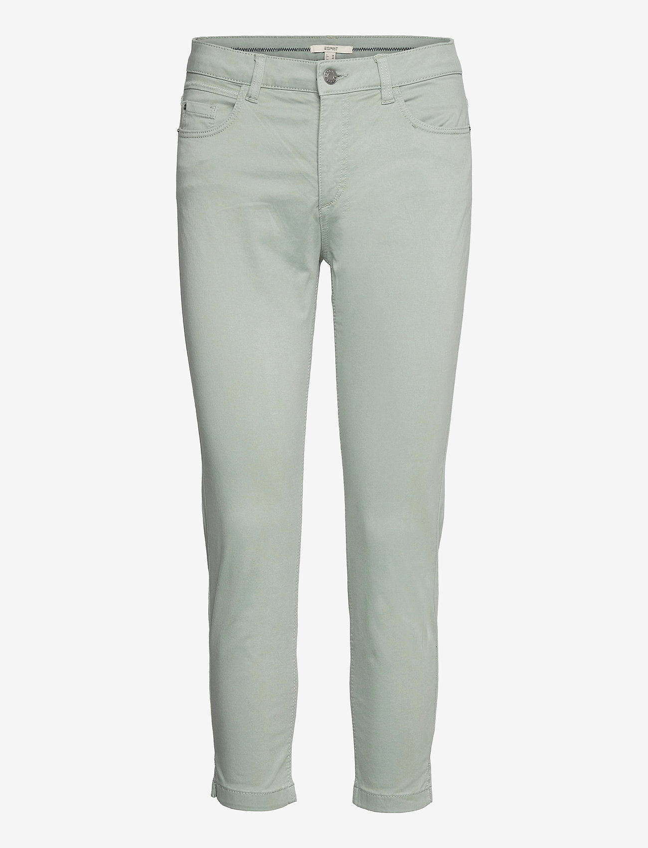 Esprit Casual - Pants woven - slim fit bukser - light khaki - 0