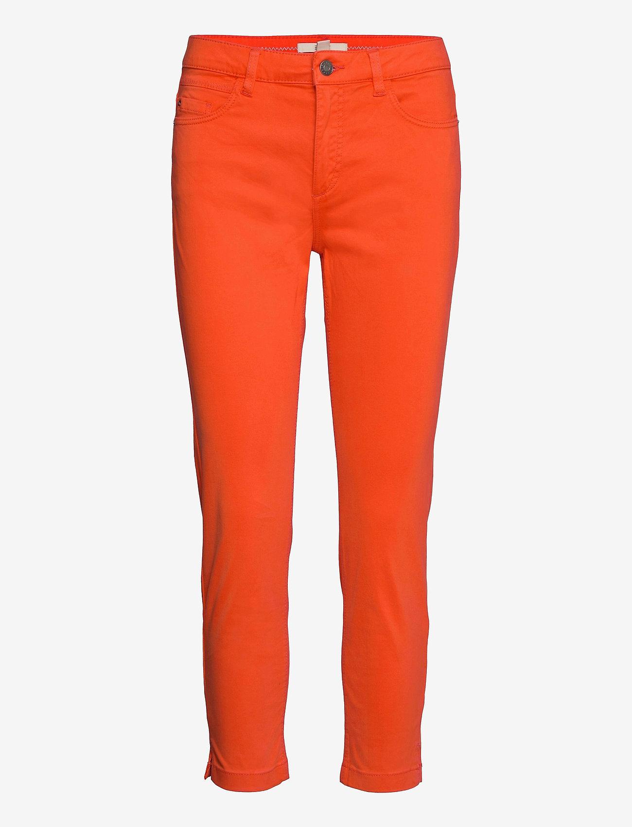 Esprit Casual - Pants woven - slim fit bukser - orange red - 0