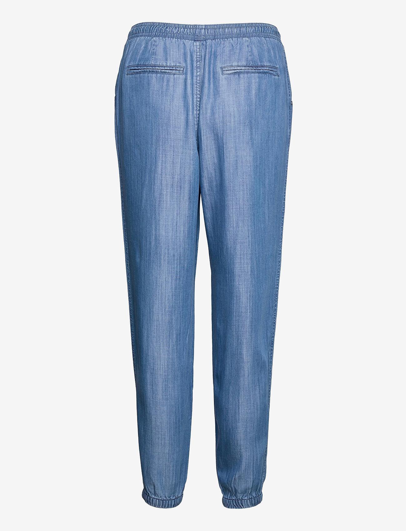 Esprit Casual - Pants denim - straight regular - blue medium wash - 1