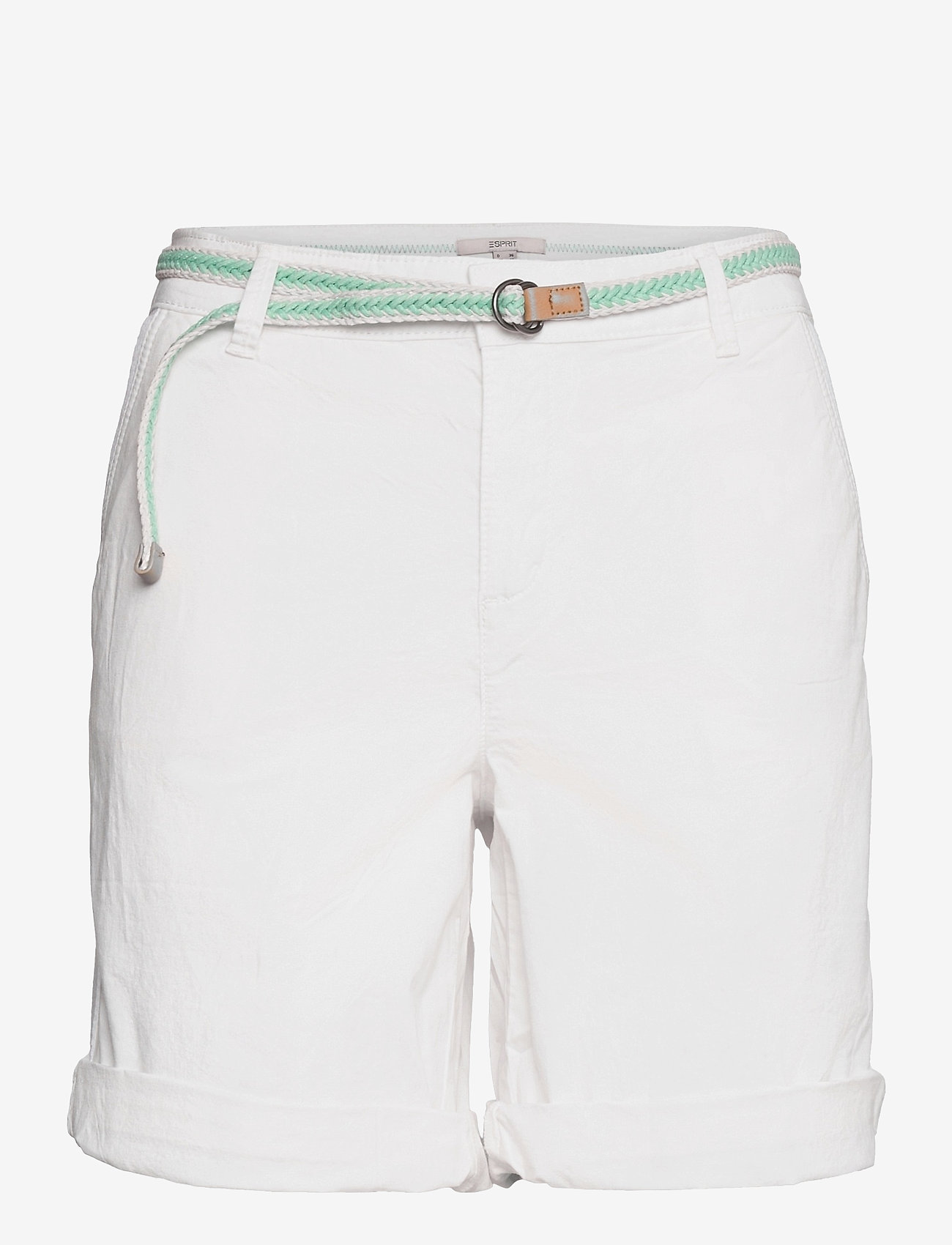 Esprit Casual - Shorts woven - chino shorts - white - 0