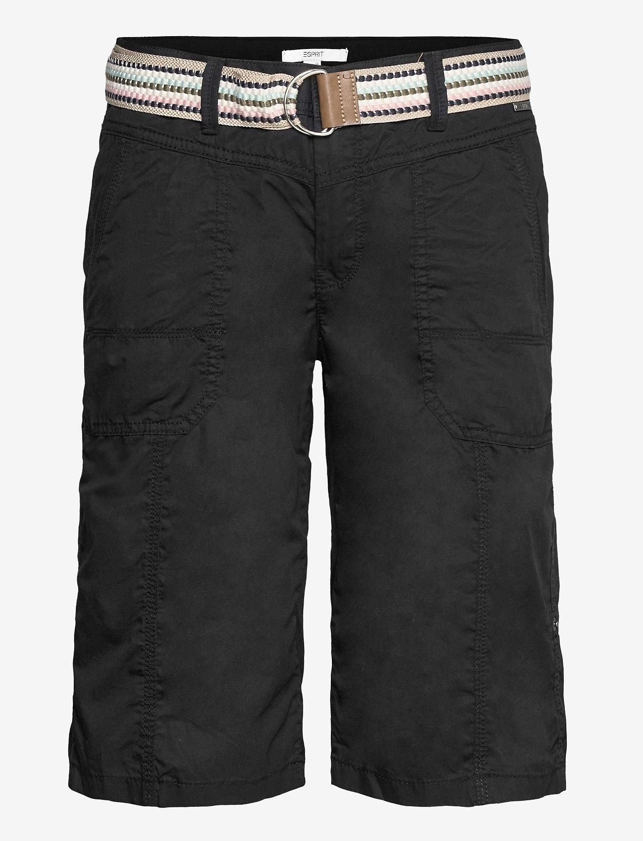 Esprit Casual - Shorts woven - bermudas - black - 0