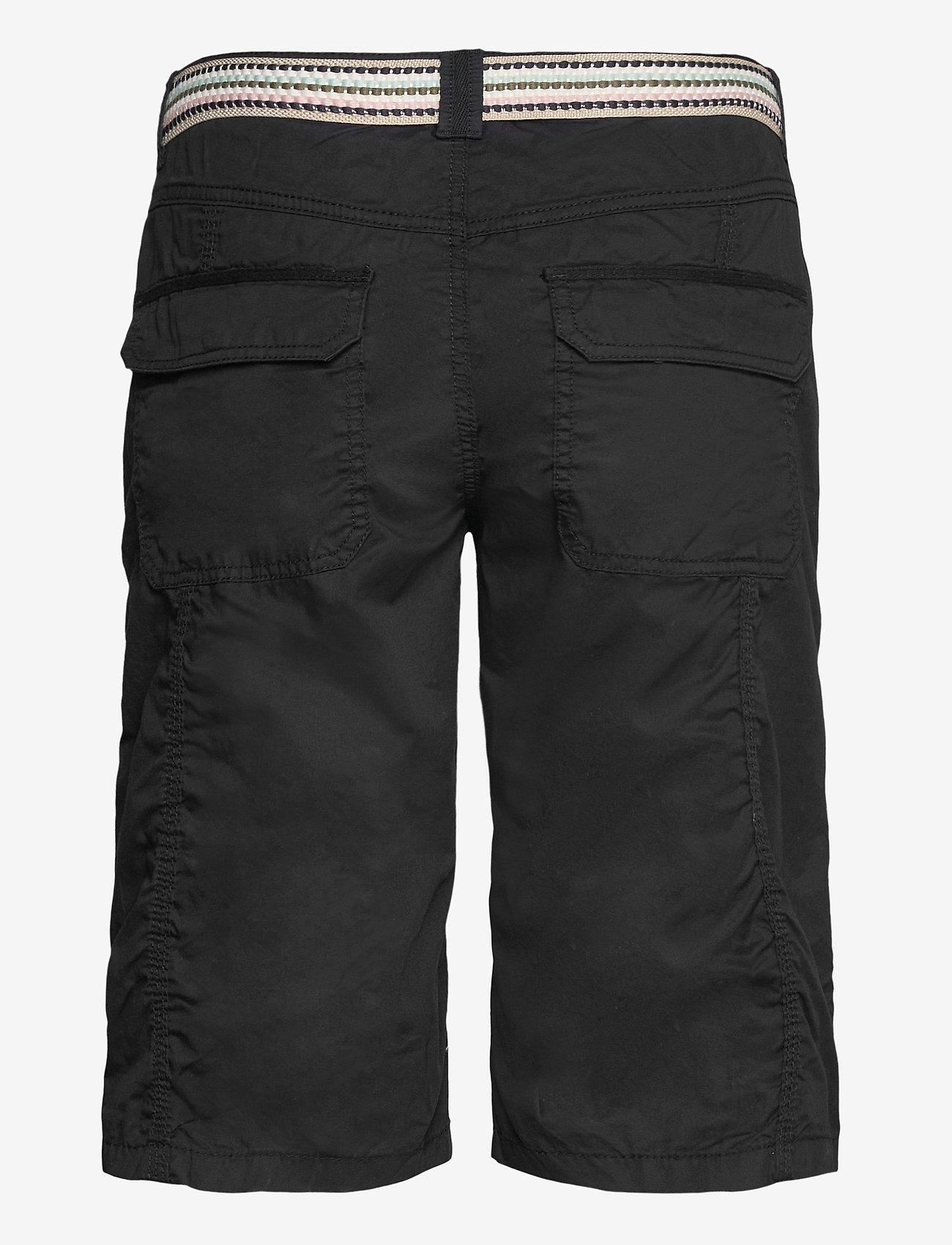Esprit Casual - Shorts woven - bermudas - black - 1