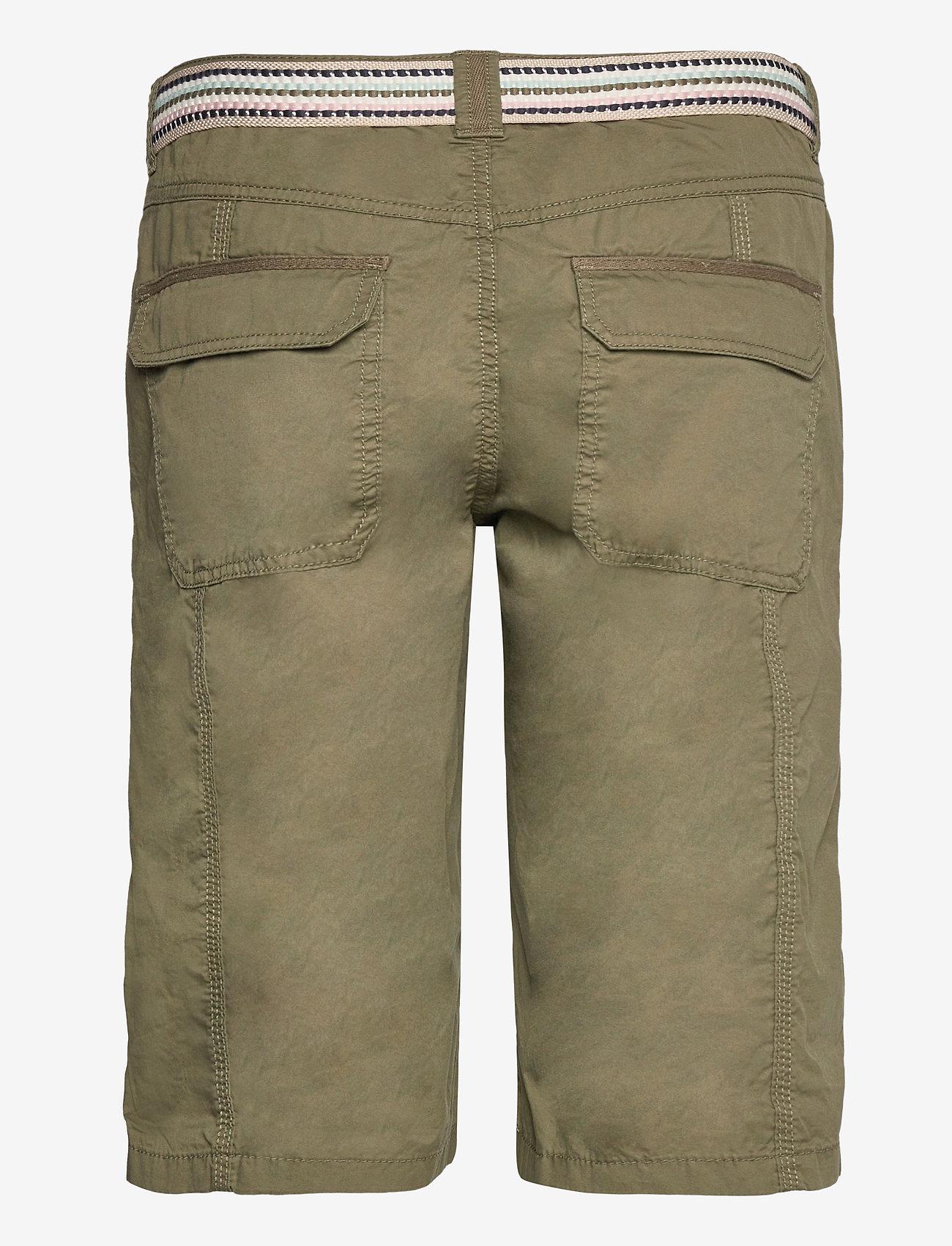 Esprit Casual - Shorts woven - bermudas - khaki green - 1