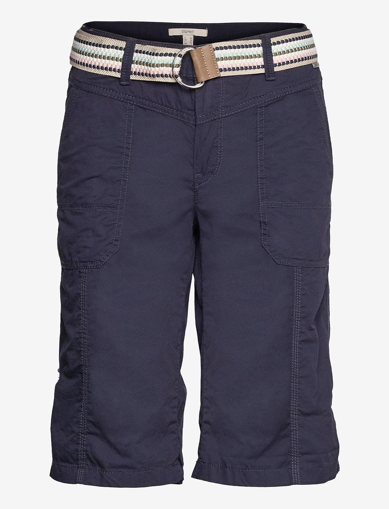 Esprit Casual - Shorts woven - bermudas - navy - 0