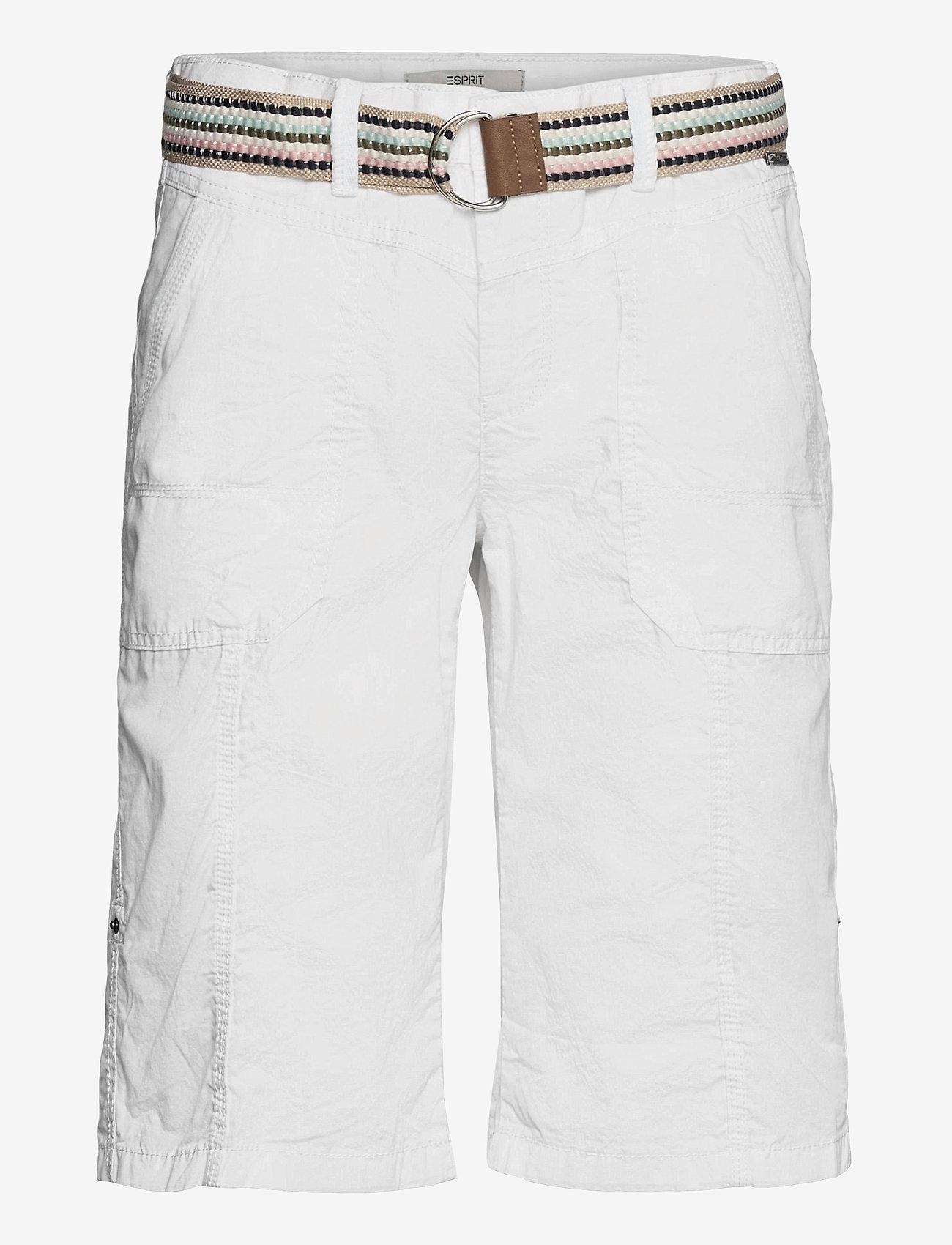 Esprit Casual - Shorts woven - bermudas - white - 0