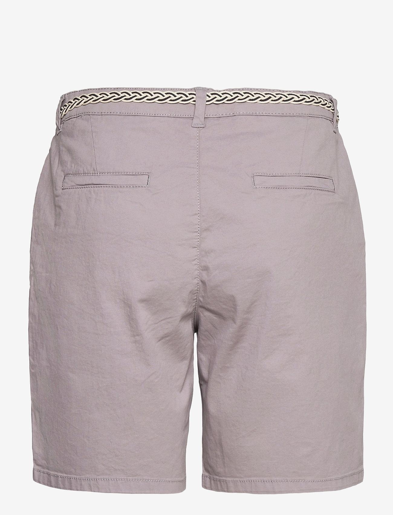 Esprit Casual - Shorts woven - chino shorts - light grey - 1