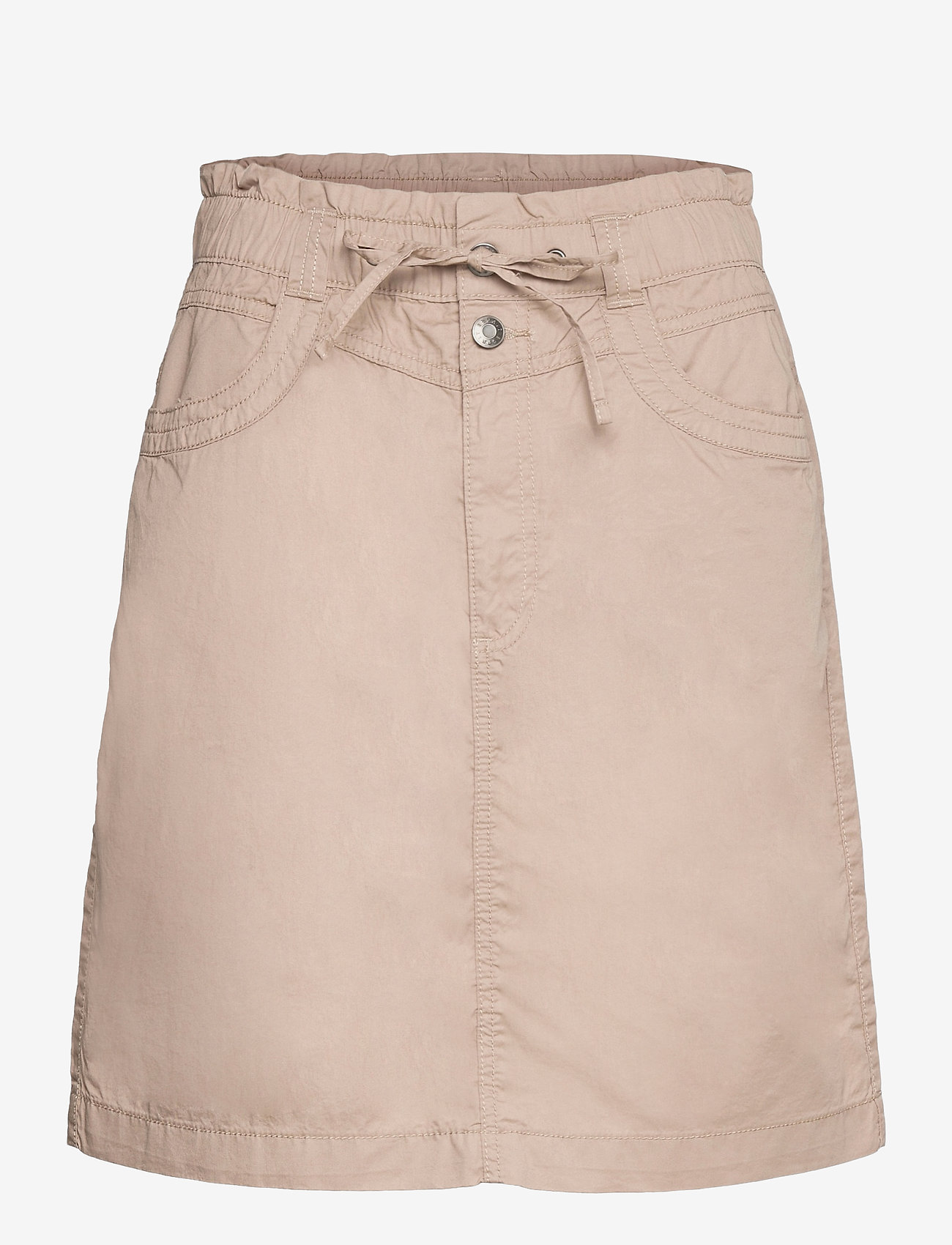 Esprit Casual - Skirts woven - korta kjolar - beige - 0