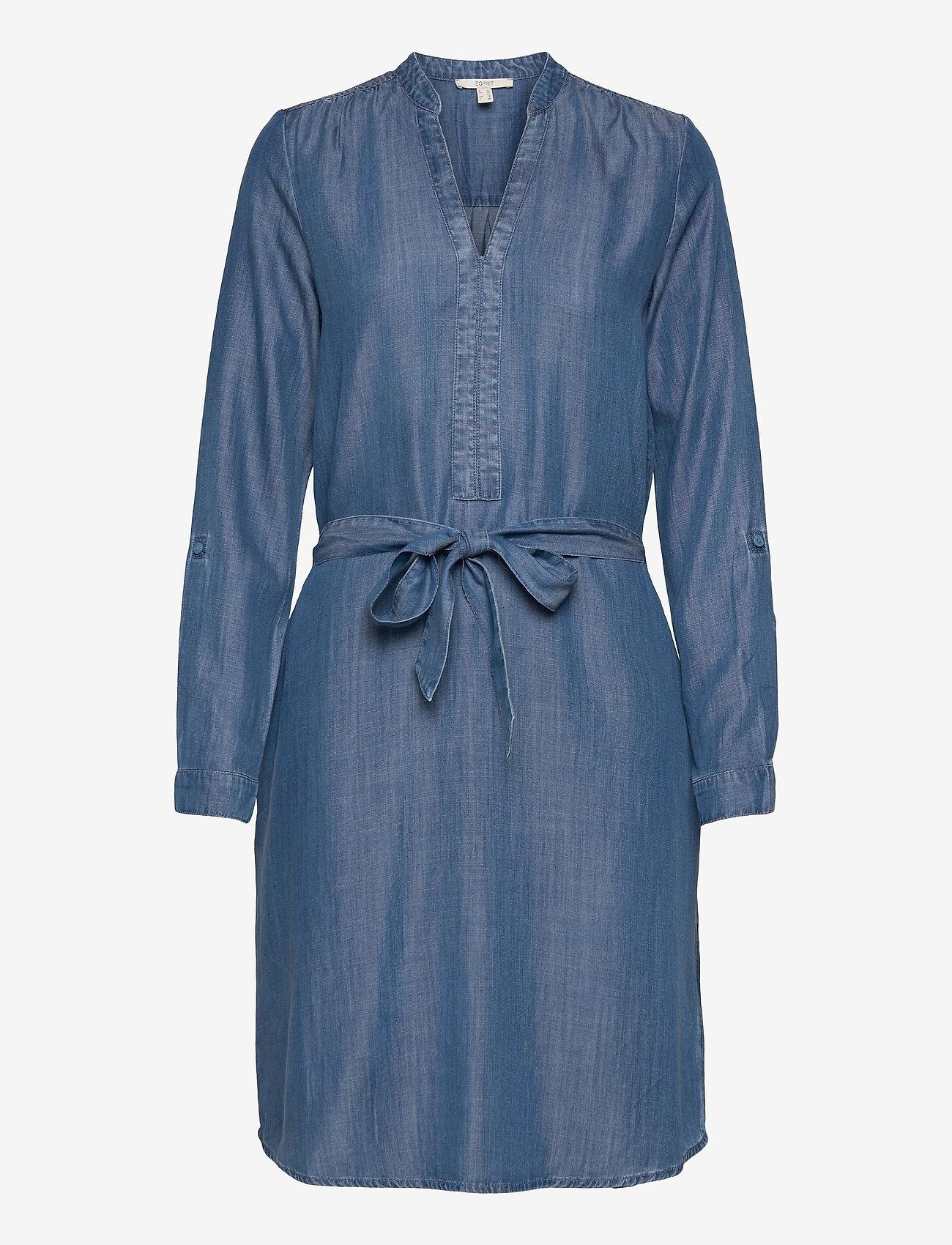 Esprit Casual - Dresses denim - denimkjoler - blue medium wash - 0