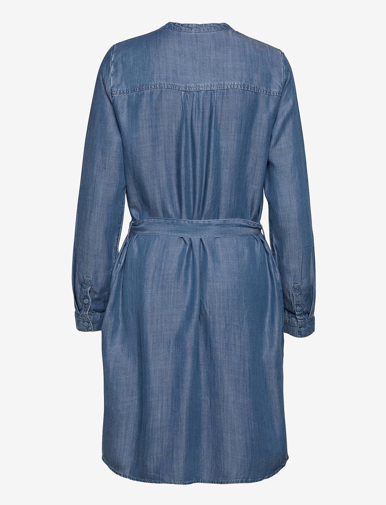 Esprit Casual - Dresses denim - denimkjoler - blue medium wash - 1