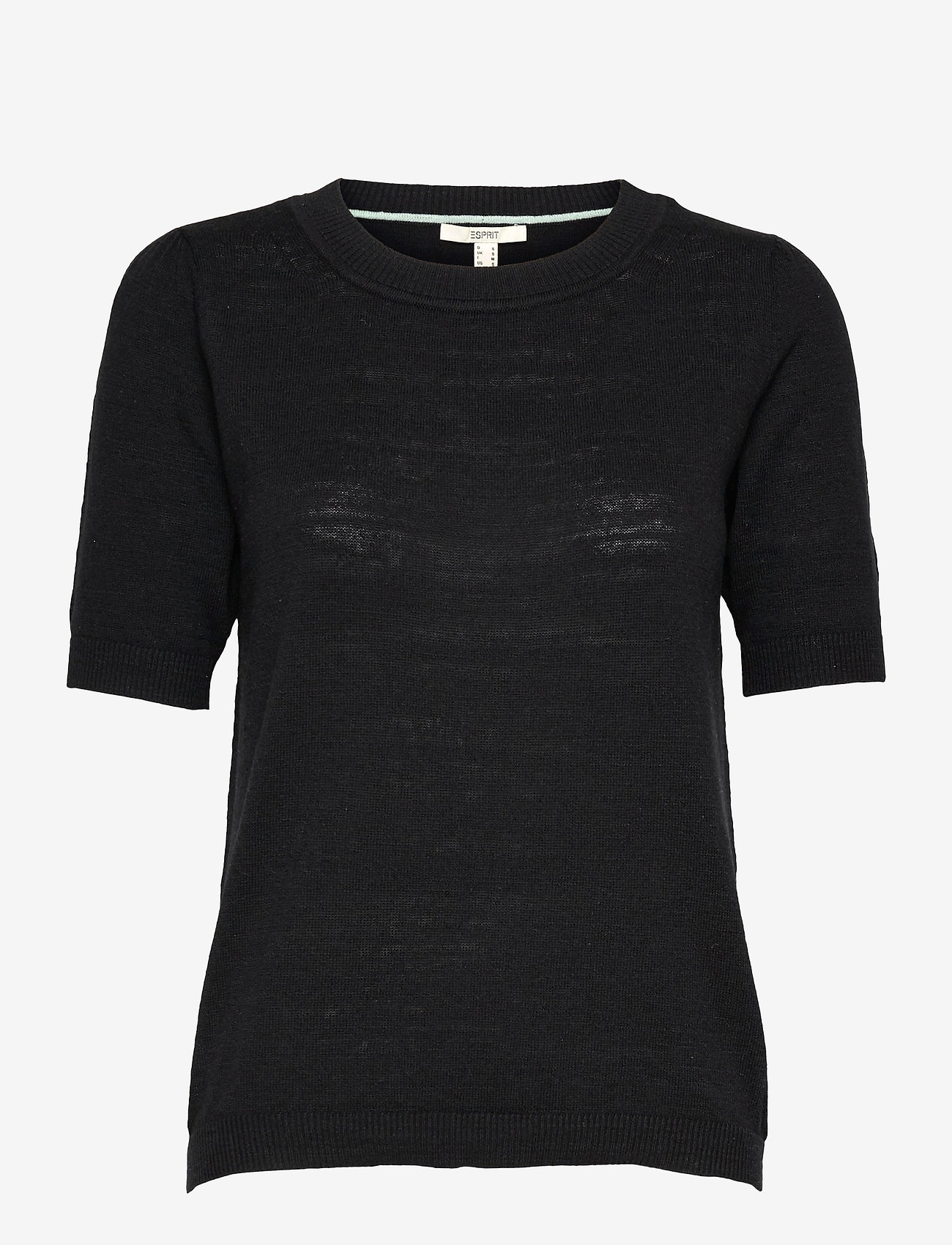 Esprit Casual - Sweaters - strikkede toppe - black - 0