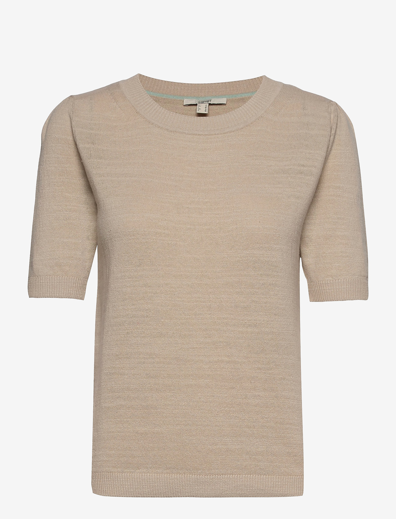 Esprit Casual - Sweaters - strikkede toppe - sand 5 - 0