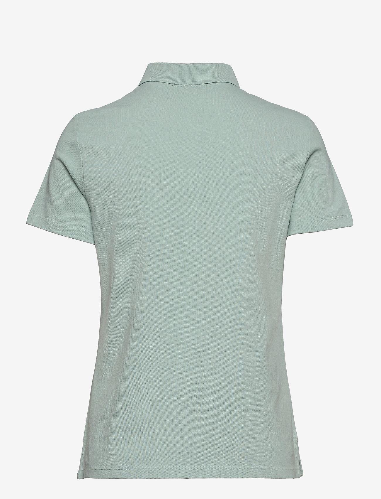 Esprit Casual - T-Shirts - polohemden - light aqua green - 1
