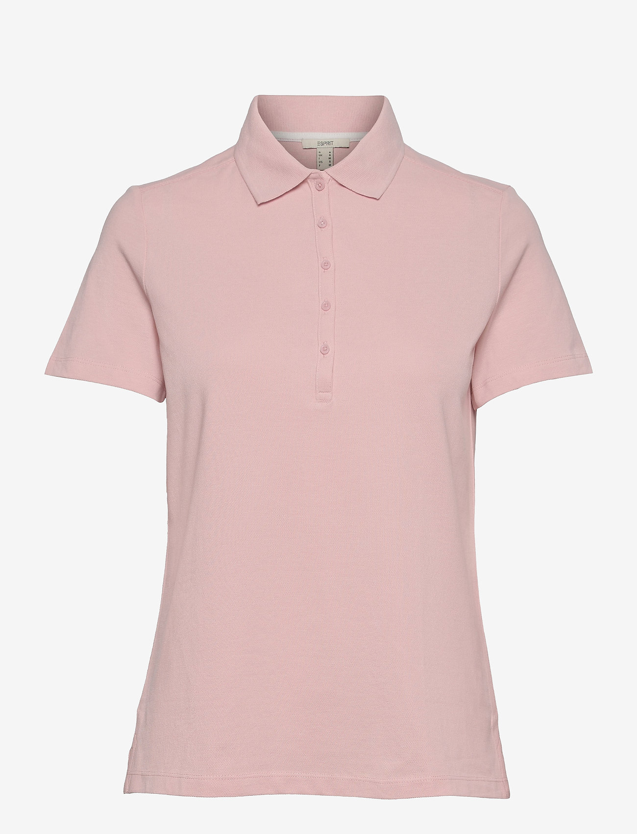 Esprit Casual - T-Shirts - polohemden - nude - 0