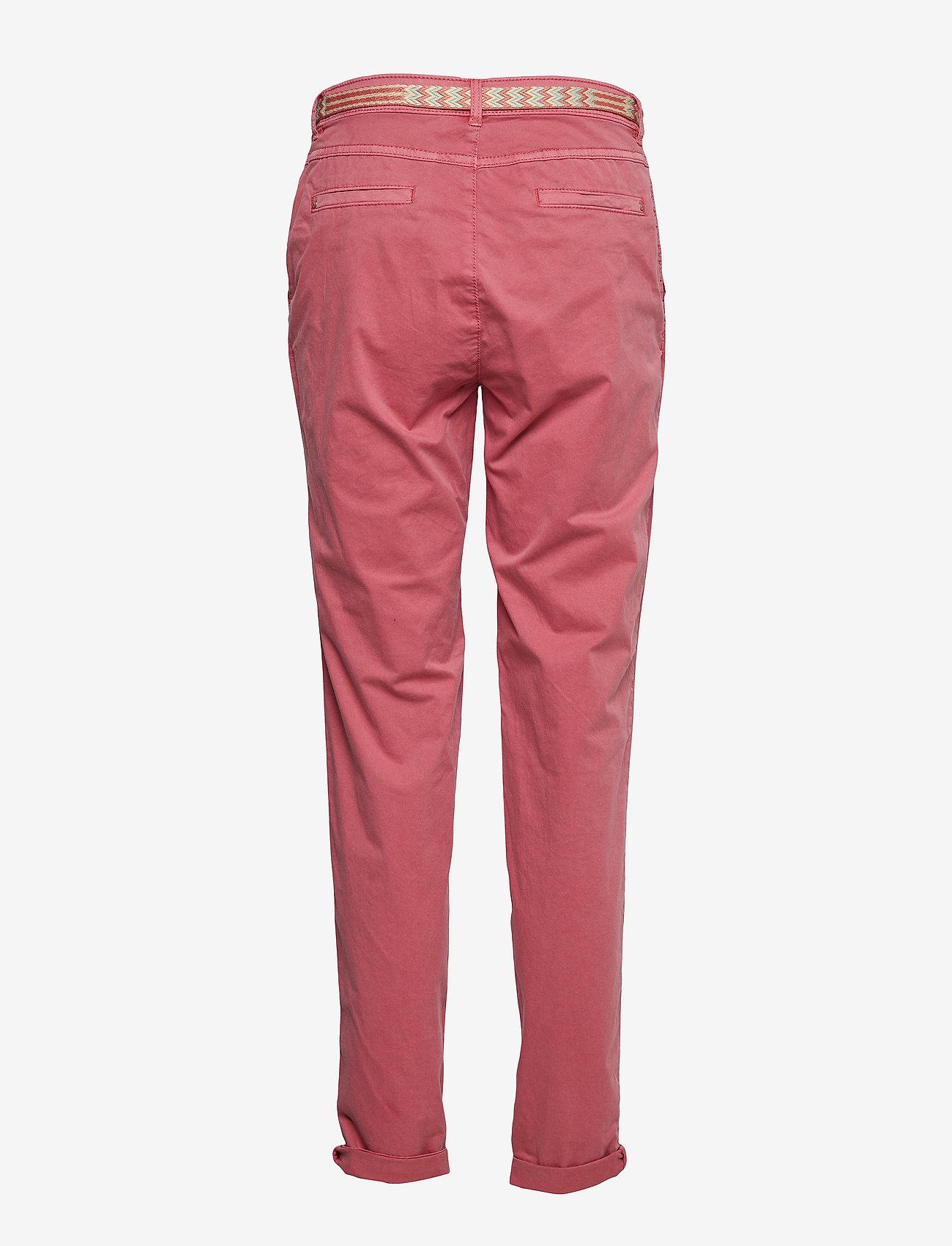 Esprit Casual Pants woven - Spodnie BLUSH - Kobiety Odzież.