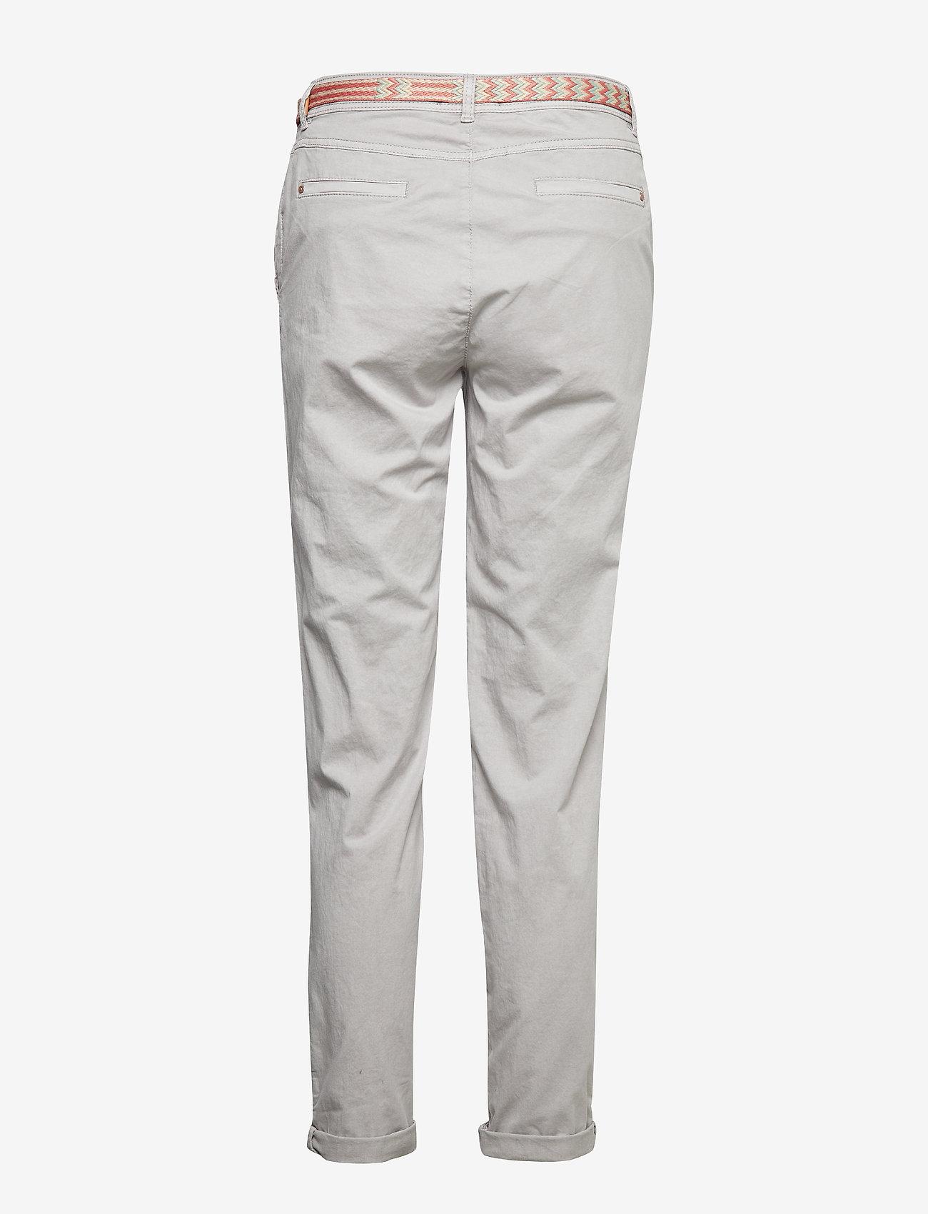 Esprit Casual Pants woven - Spodnie LIGHT GREY - Kobiety Odzież.