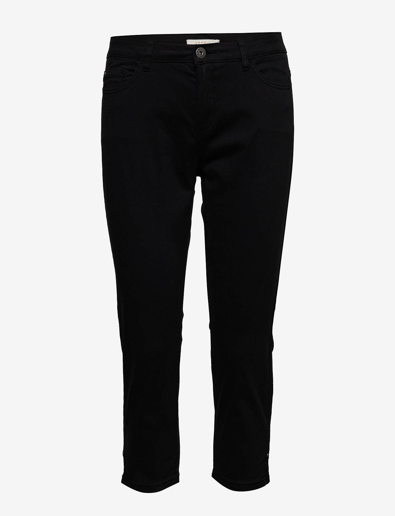 Esprit Casual - Pants woven - casual bukser - black - 0