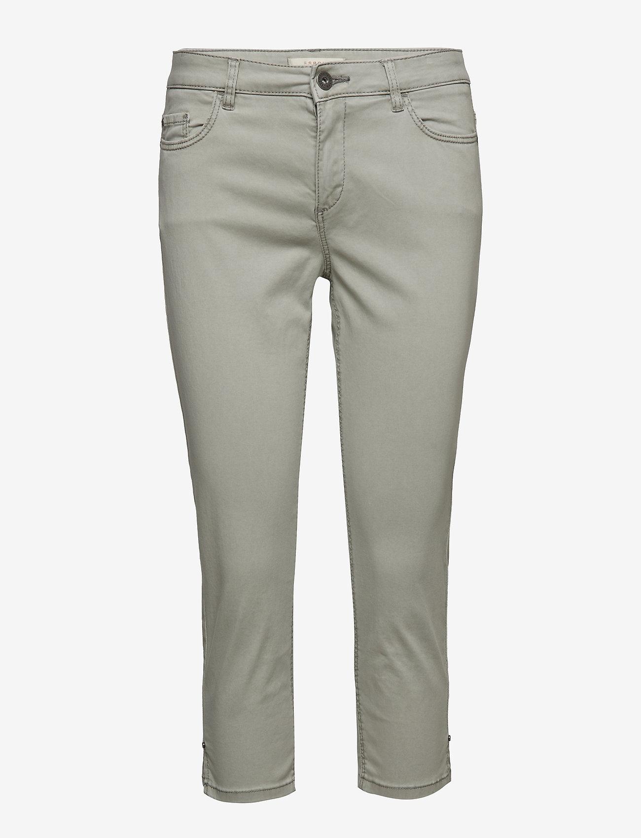 Esprit Casual - Pants woven - casual bukser - light grey - 0