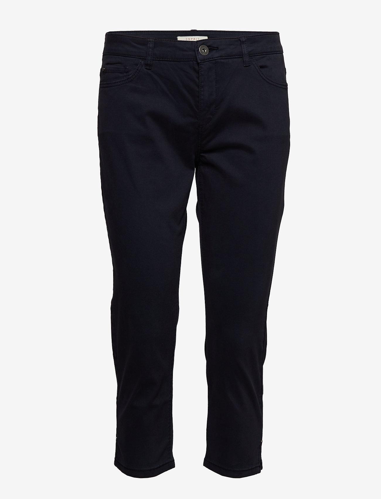 Esprit Casual - Pants woven - casual bukser - navy - 0