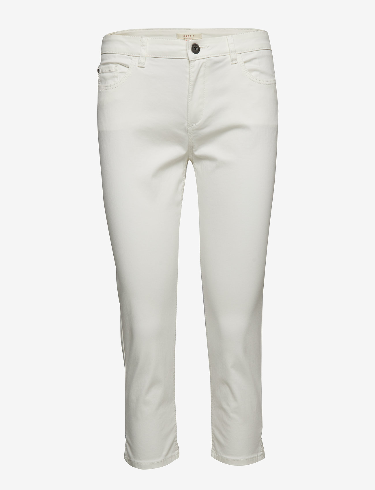 Esprit Casual - Pants woven - casual bukser - off white - 0