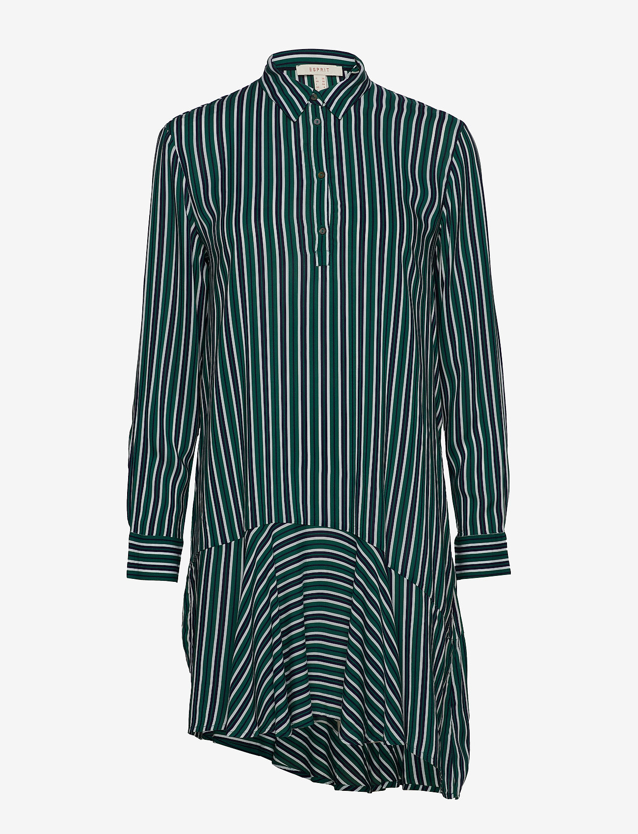 Esprit Casual - Dresses light woven - skjortekjoler - emerald green - 0