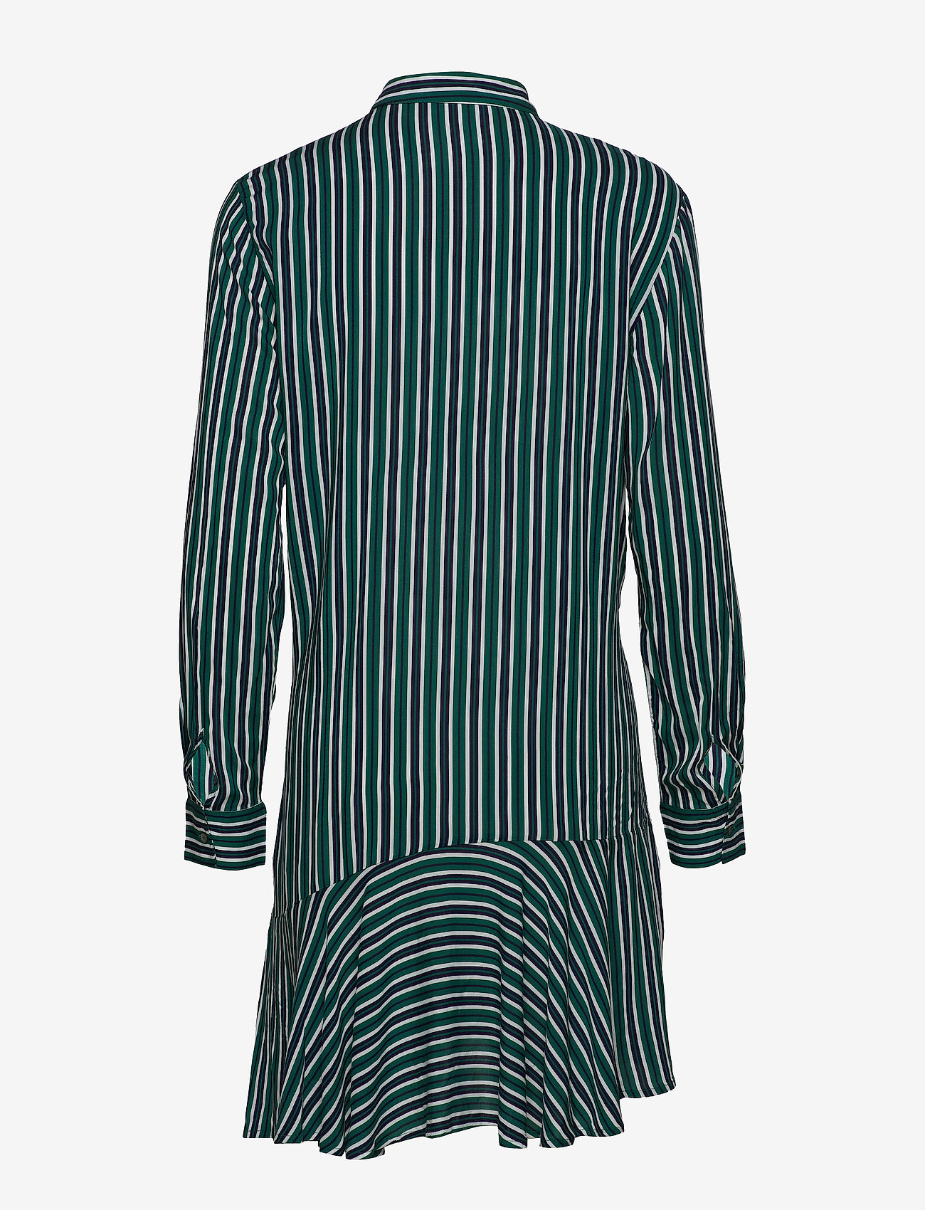 Esprit Casual - Dresses light woven - skjortekjoler - emerald green - 1