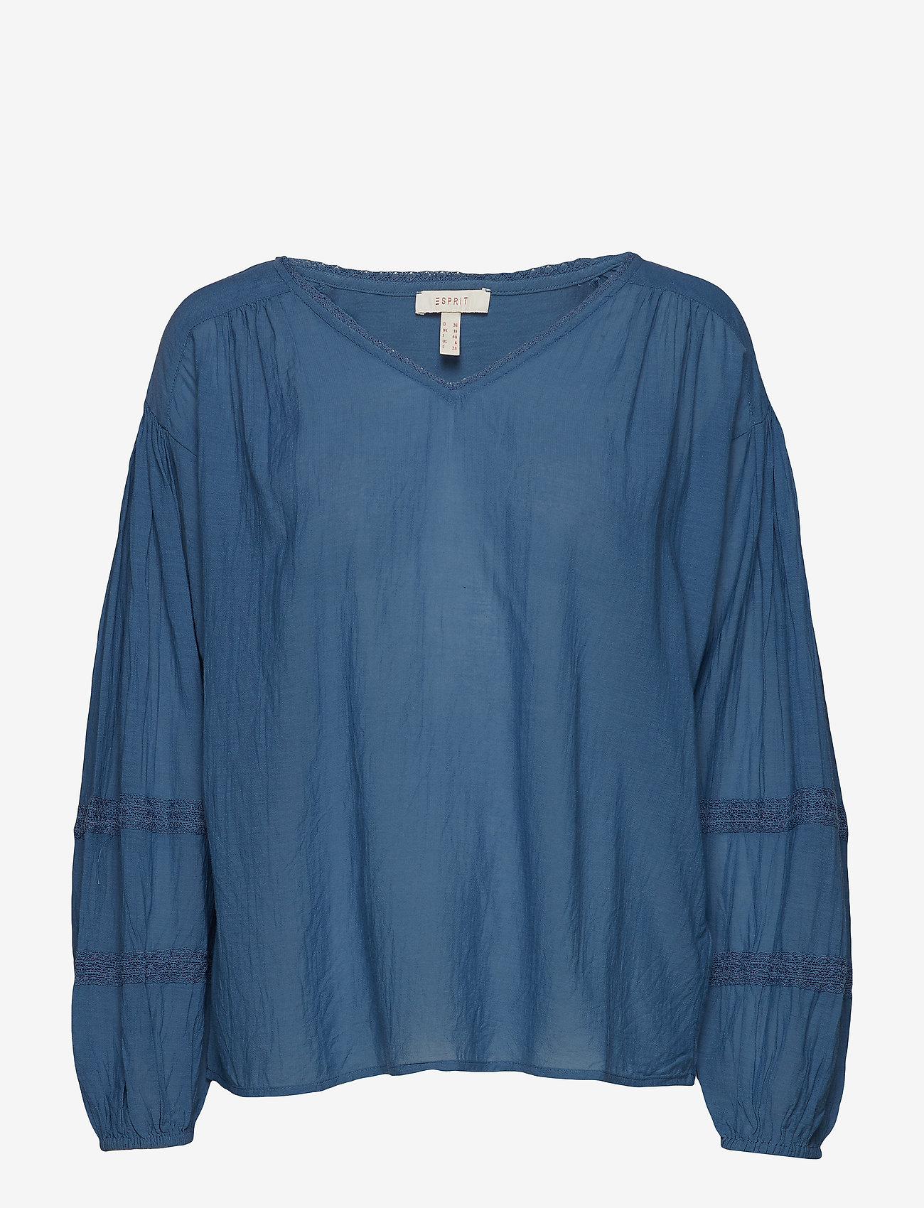 Esprit Casual - Blouses woven - langærmede bluser - grey blue - 0