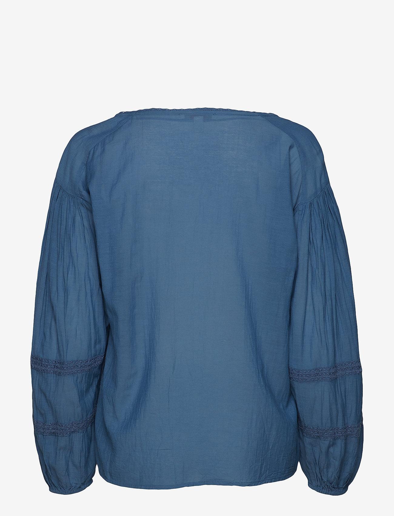 Blouses Woven (Grey Blue) (252.99 kr) - Esprit Casual