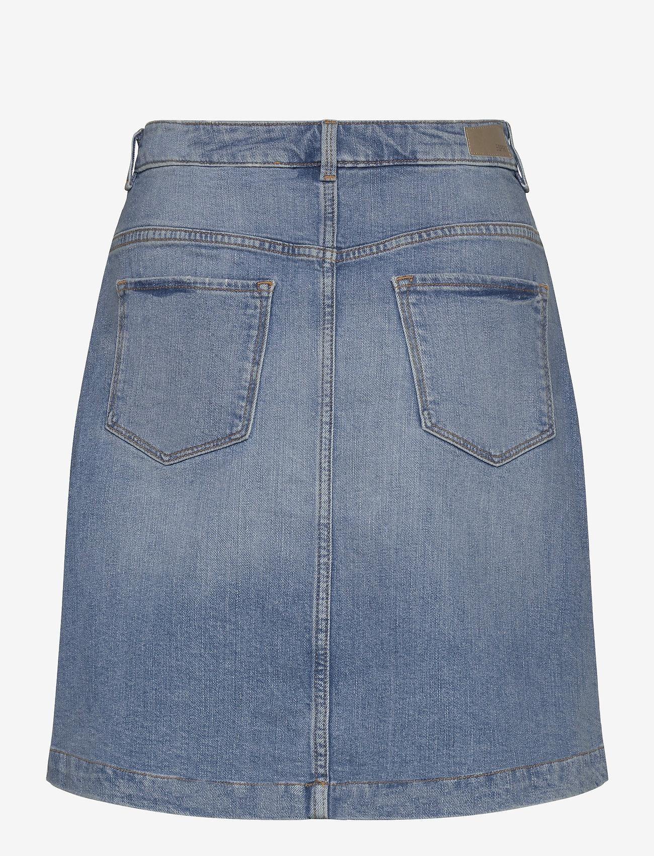 Skirts Denim (Blue Medium Wash) (349.99 kr) - Esprit Casual