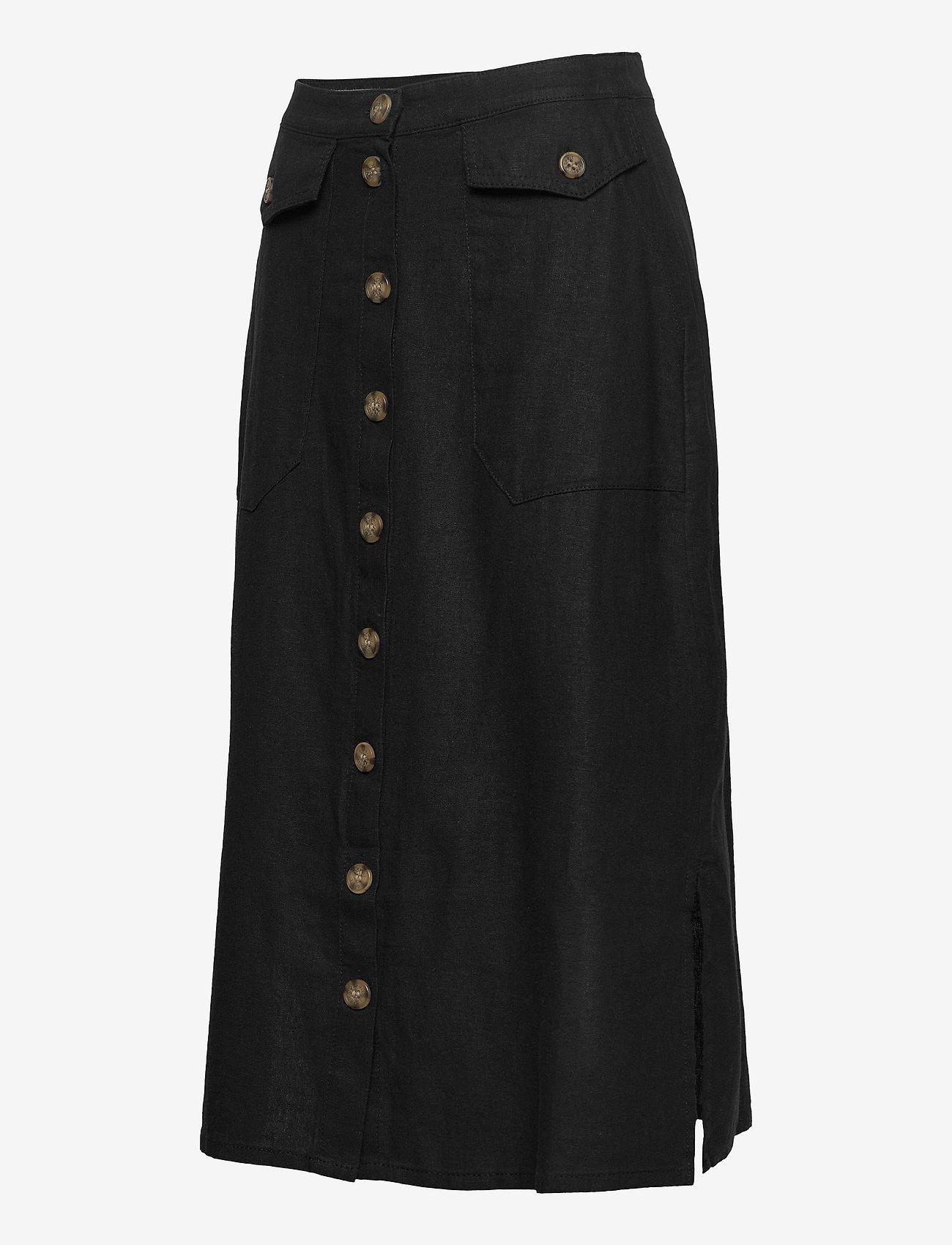 Skirts Light Woven (Black) (419.99 kr) - Esprit Casual