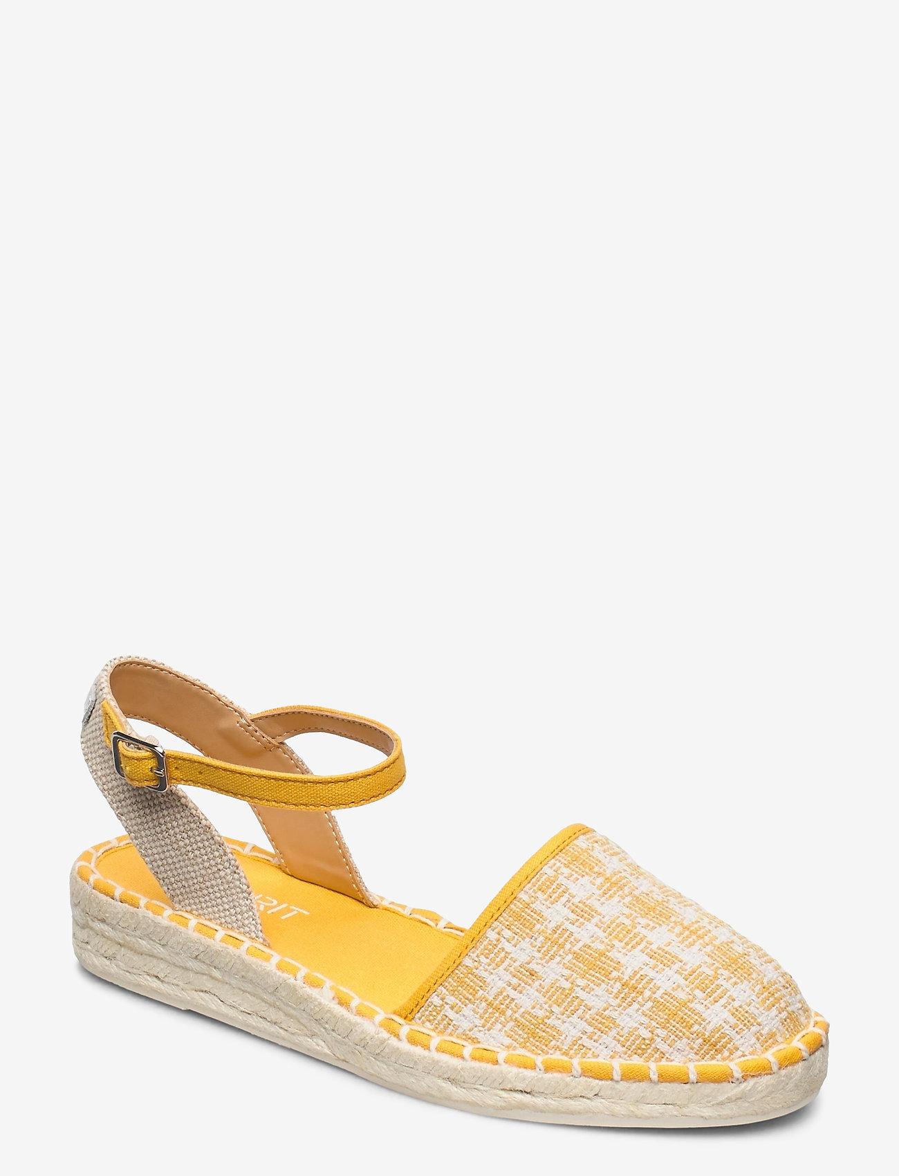 Esprit Casual - Casual Shoes textile - platta espadriller - sunflower yellow - 0