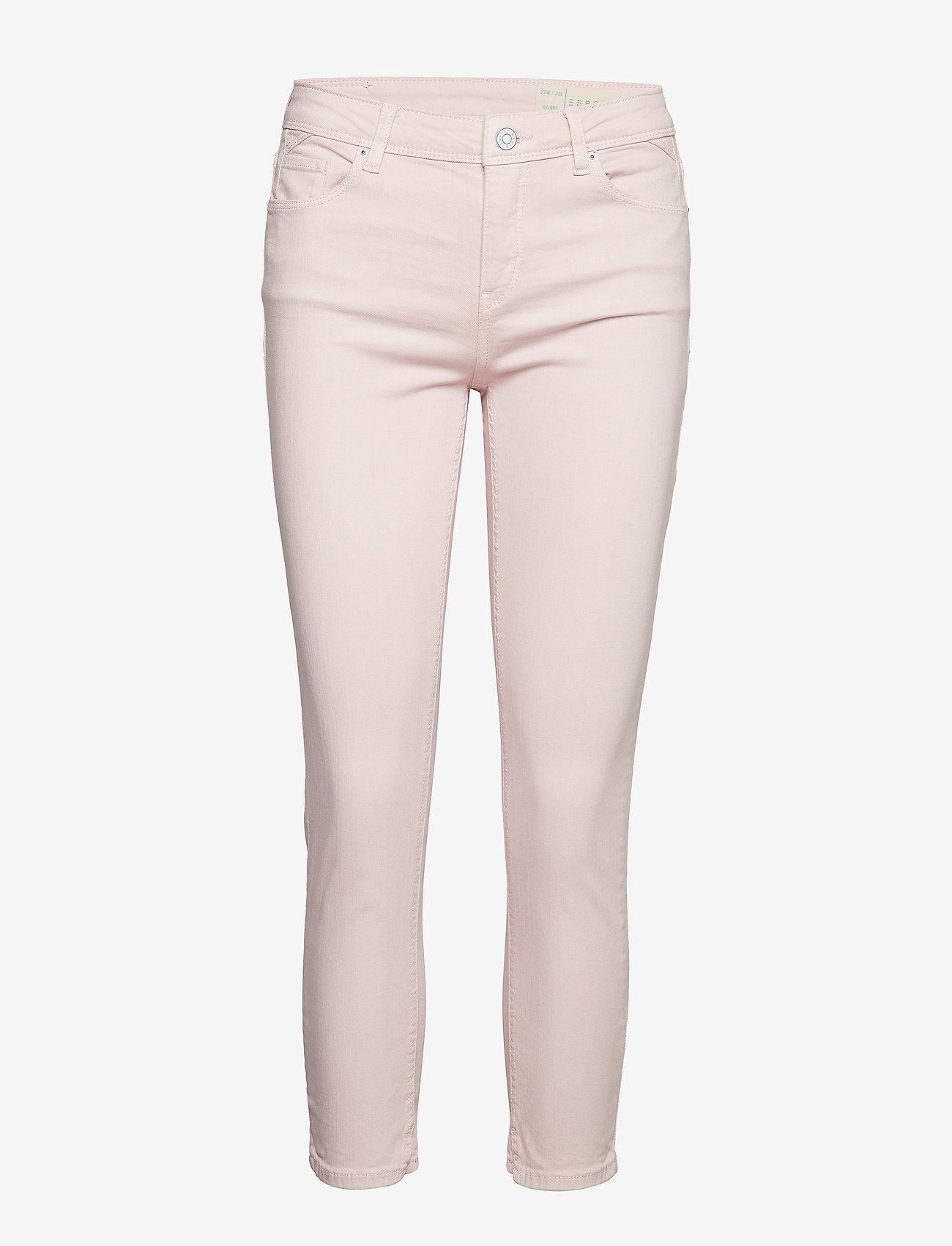 Esprit Casual - Pants denim - skinny jeans - light pink - 0