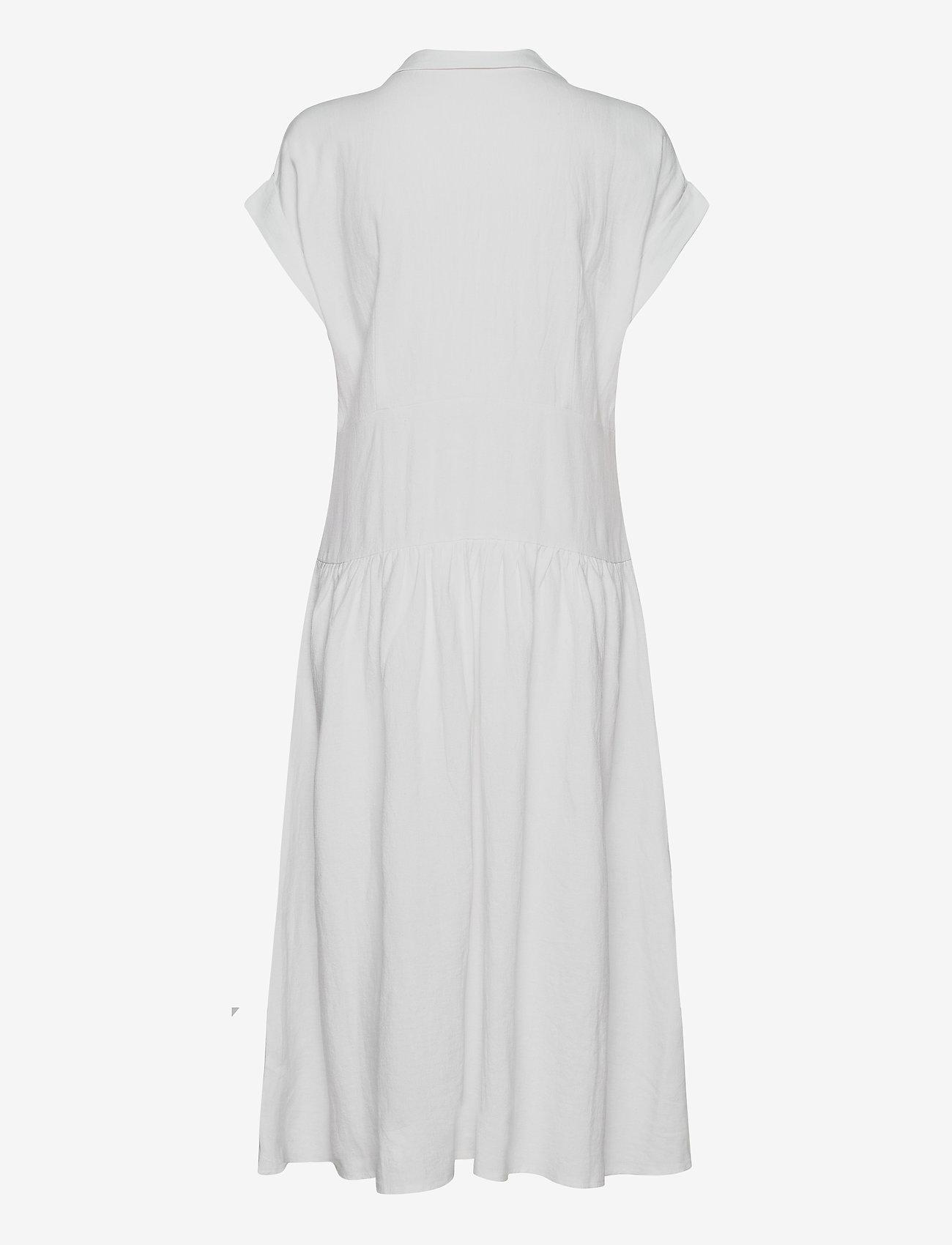 Esprit Casual - Dresses light woven - midi kjoler - white - 1